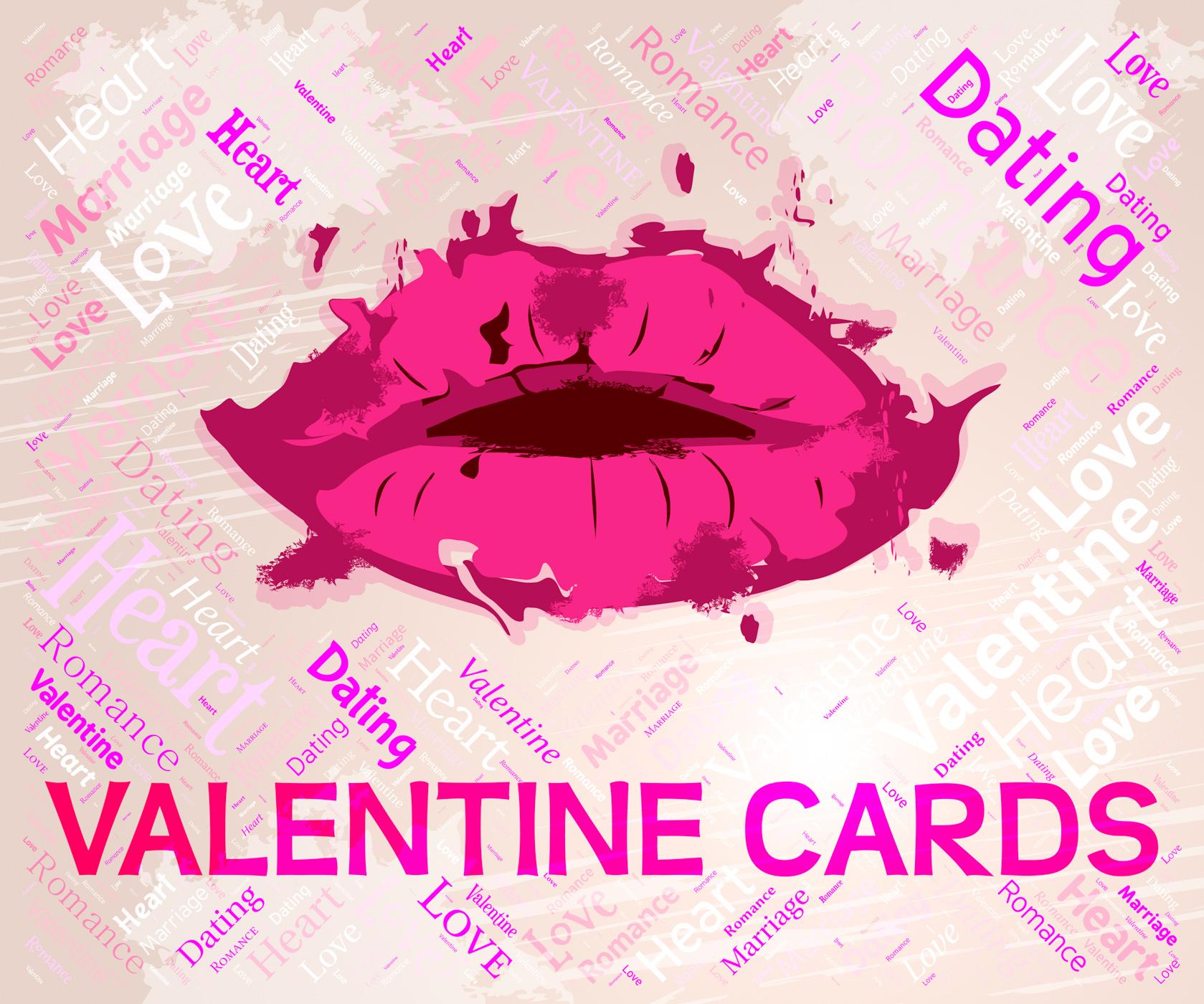 Valentine cards means valentines day and boyfriend photo