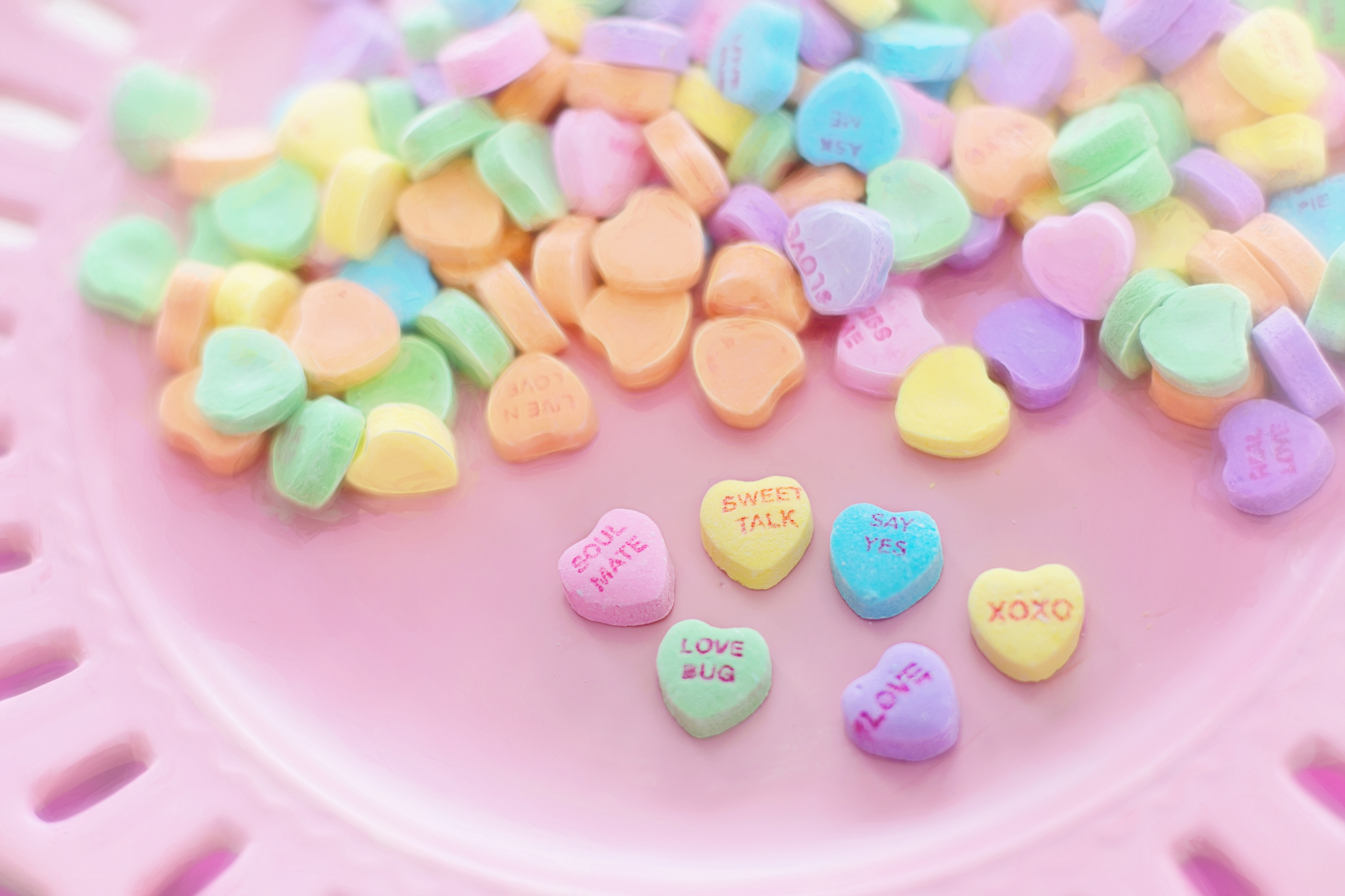 Valentine Sweet Candy, valentines, sweet, heart, cup, HQ Photo