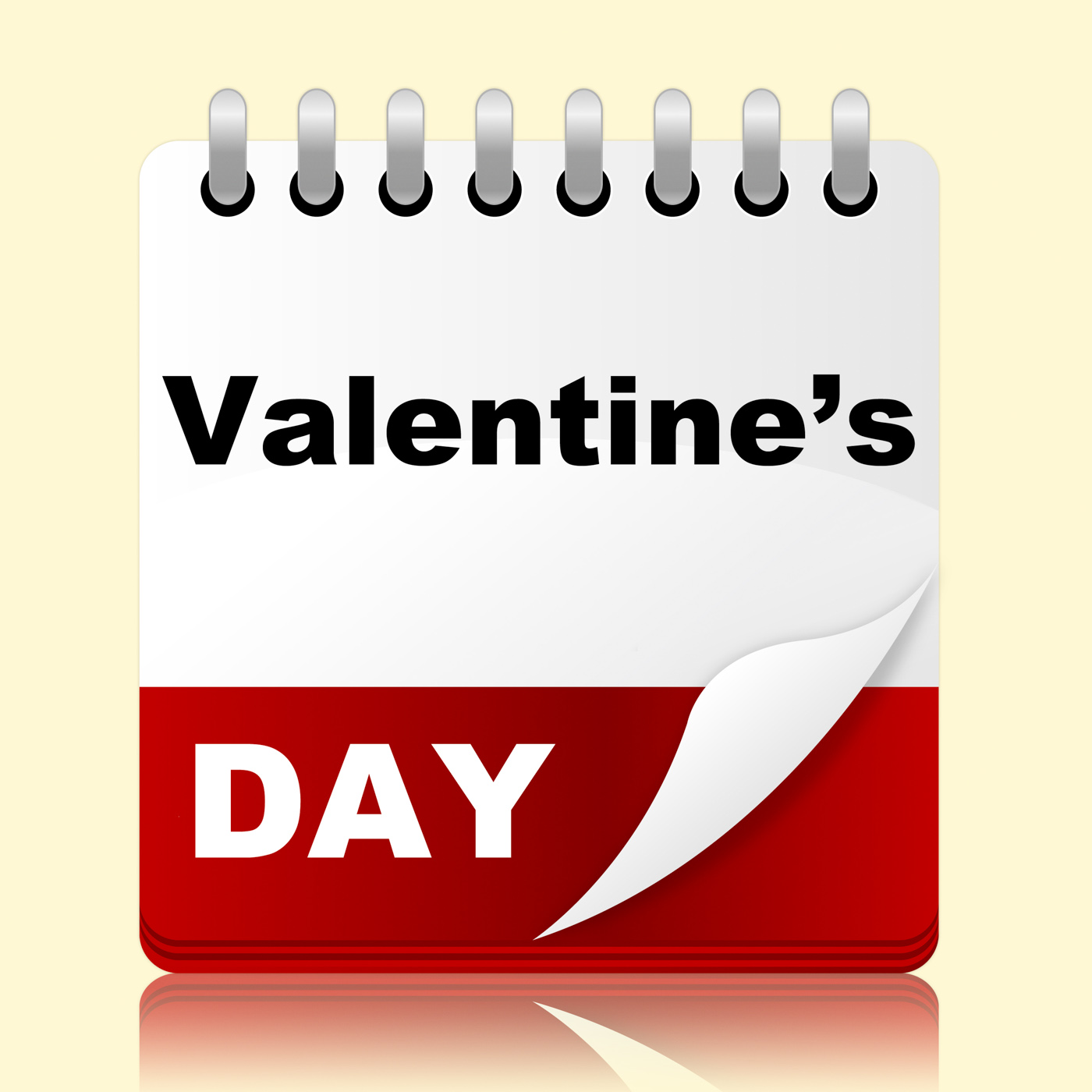 Valentines day indicates planning month and affection photo