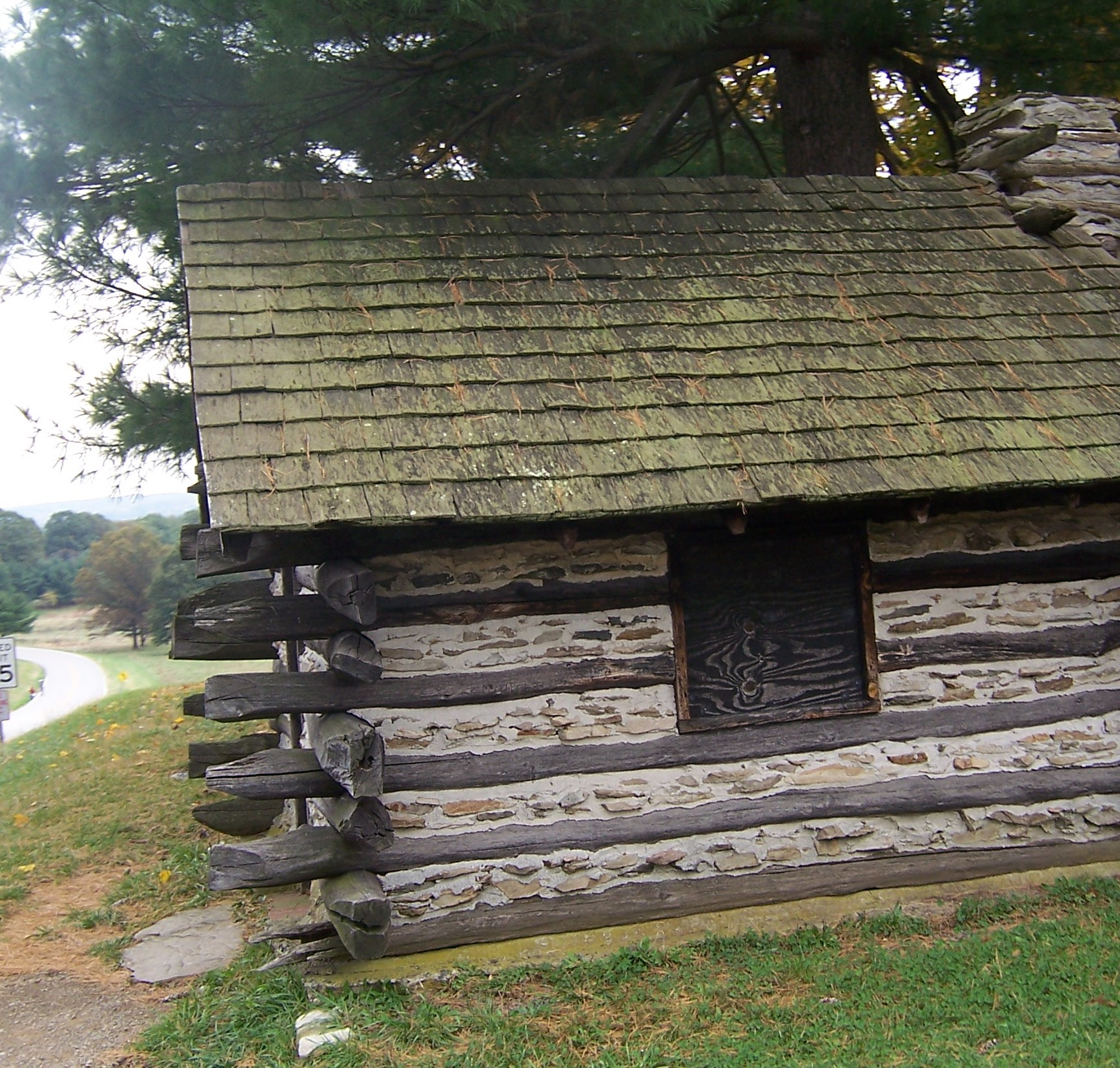 Valley forge park cabin photo