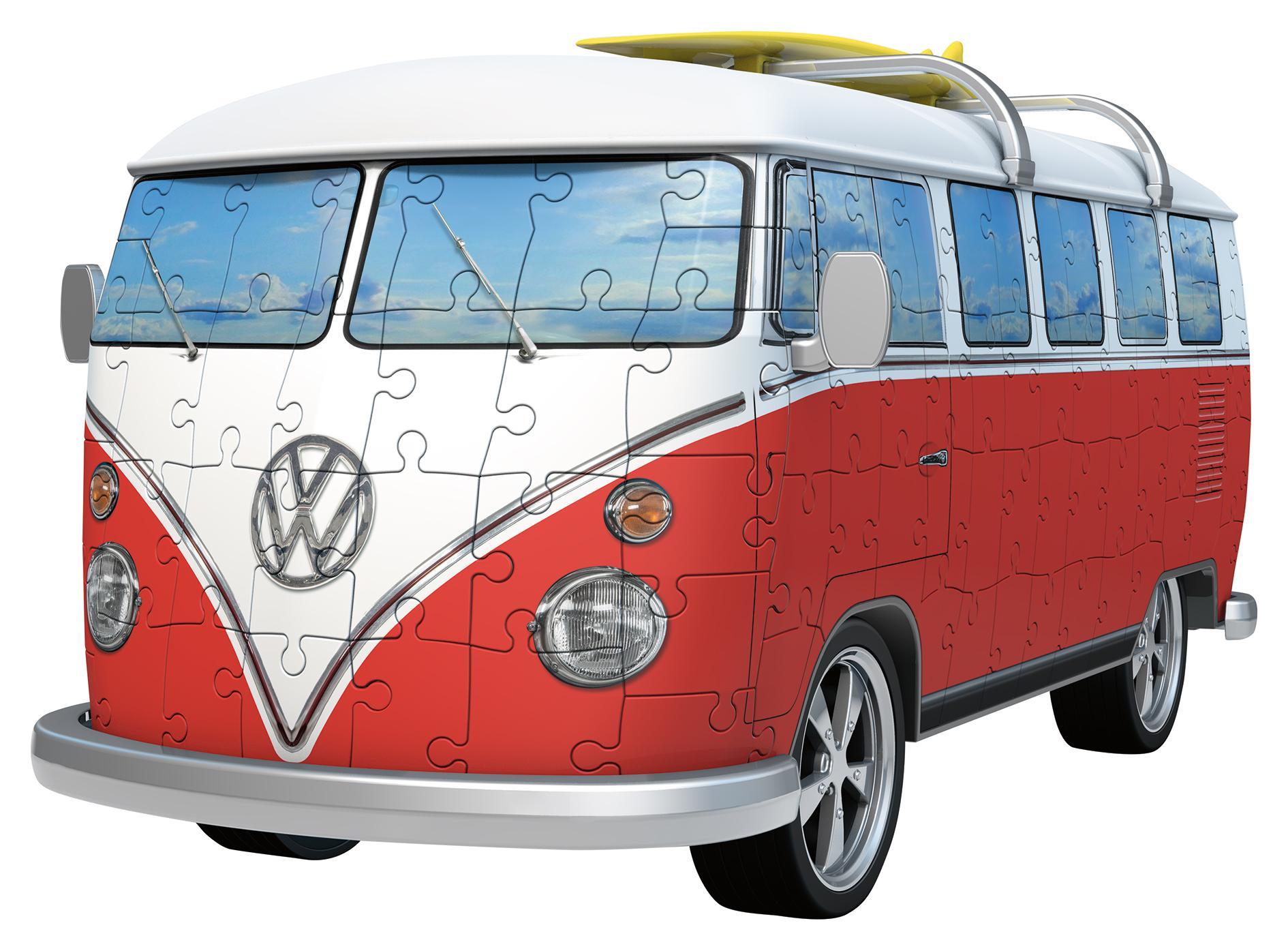 Ravensburger VW T1 Camper Van, 162pc 3D Jigsaw Puzzle: Ravensburger ...