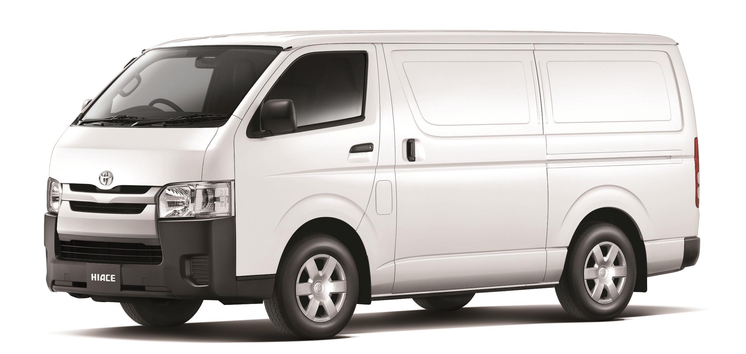 Toyota Refrigerated Vans | Glacier Vehicles