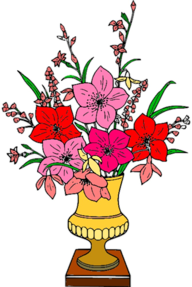 Free Photo Vase Of Flowers Clipart Vase Graphic Clipart Free