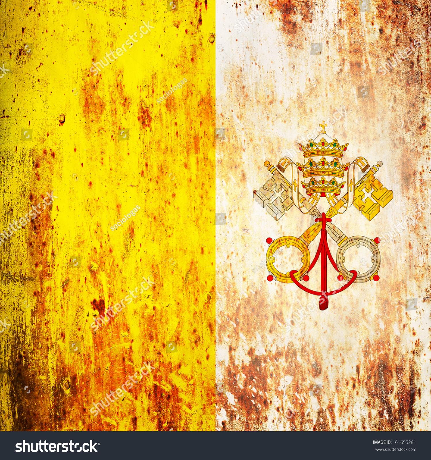 Grunge Flag Vatican Stock Photo 161655281 - Shutterstock