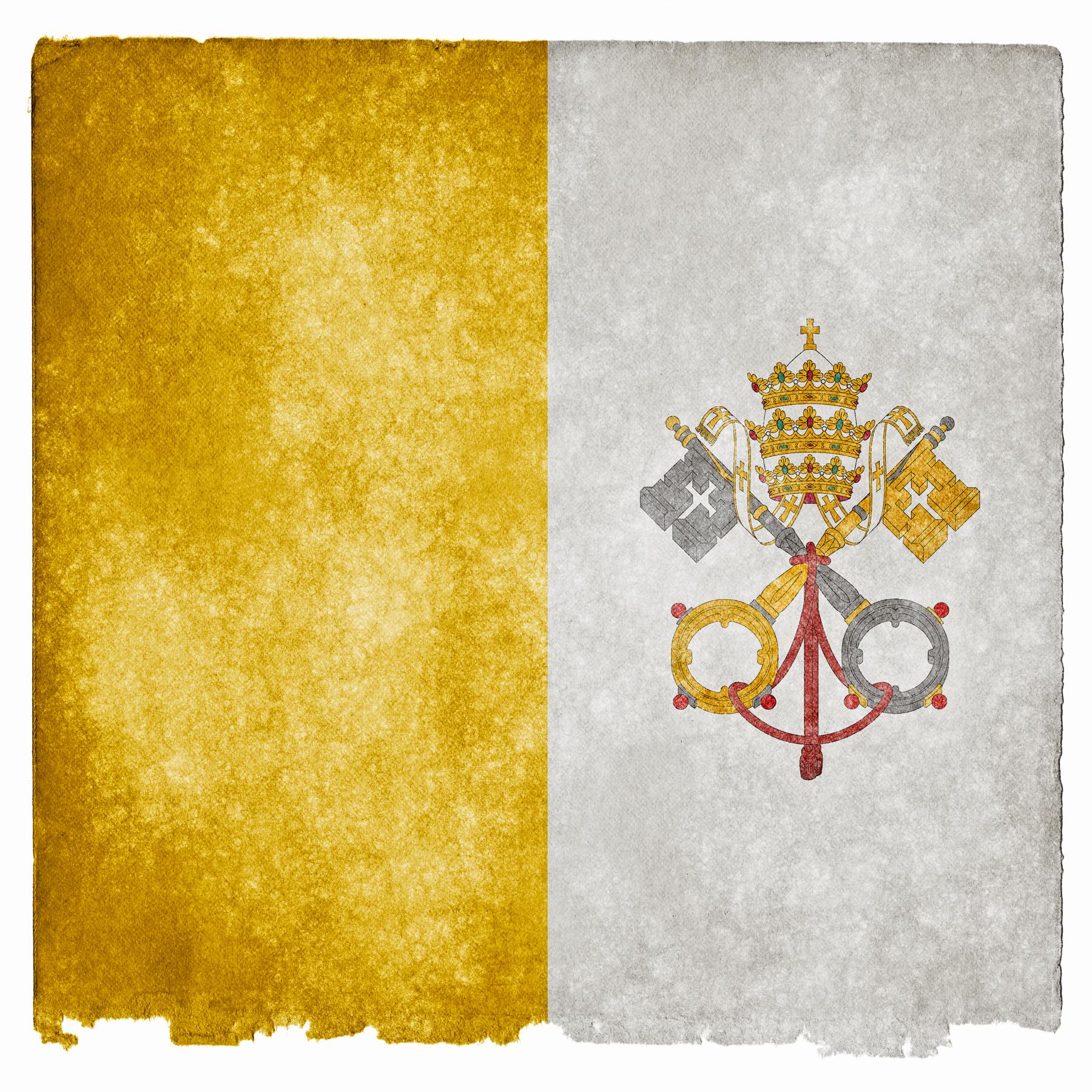 Vatican Grunge Flag, Aged, Sacred, National, Old, HQ Photo