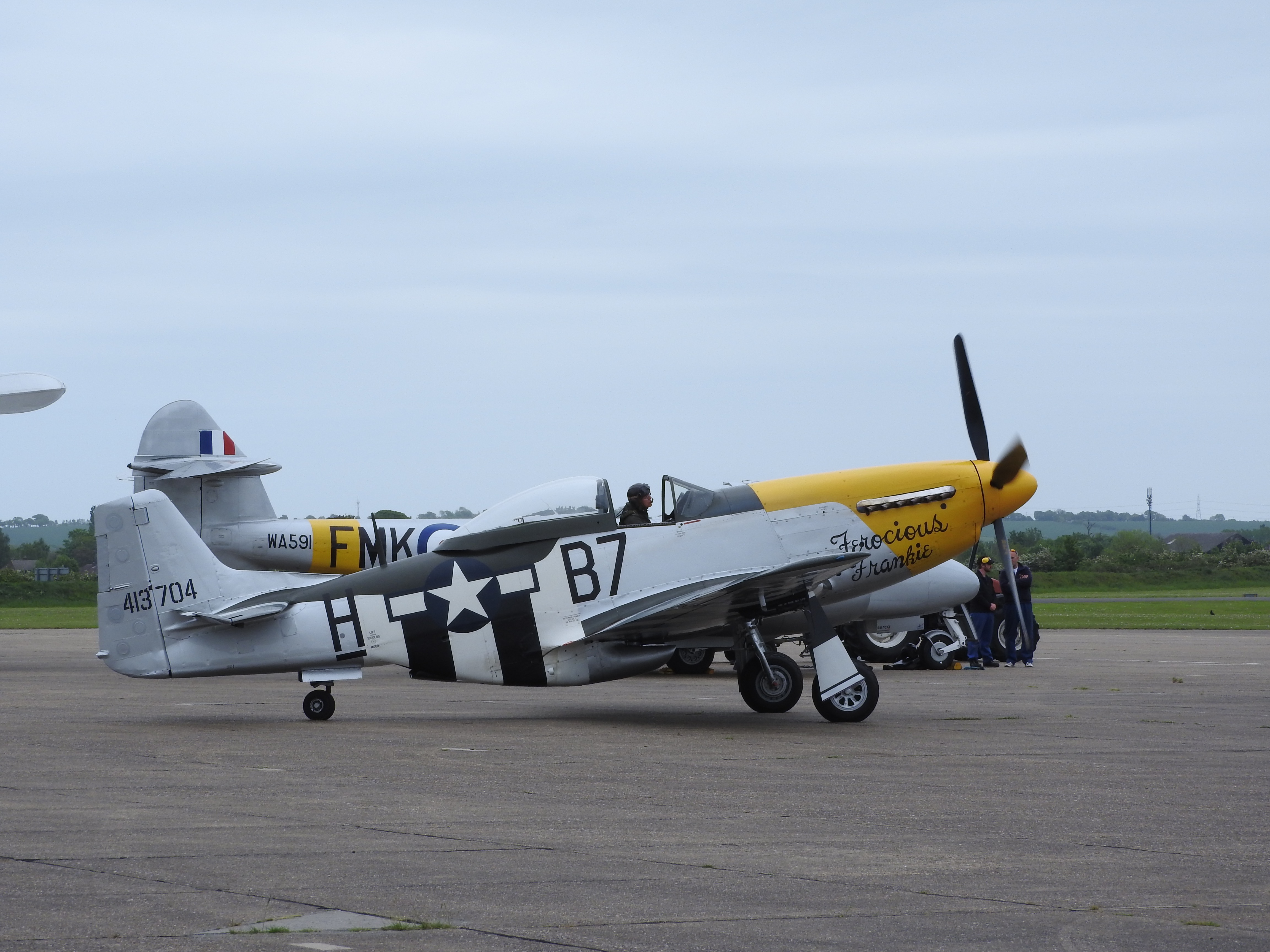 Ve day air show 2015, duxford photo