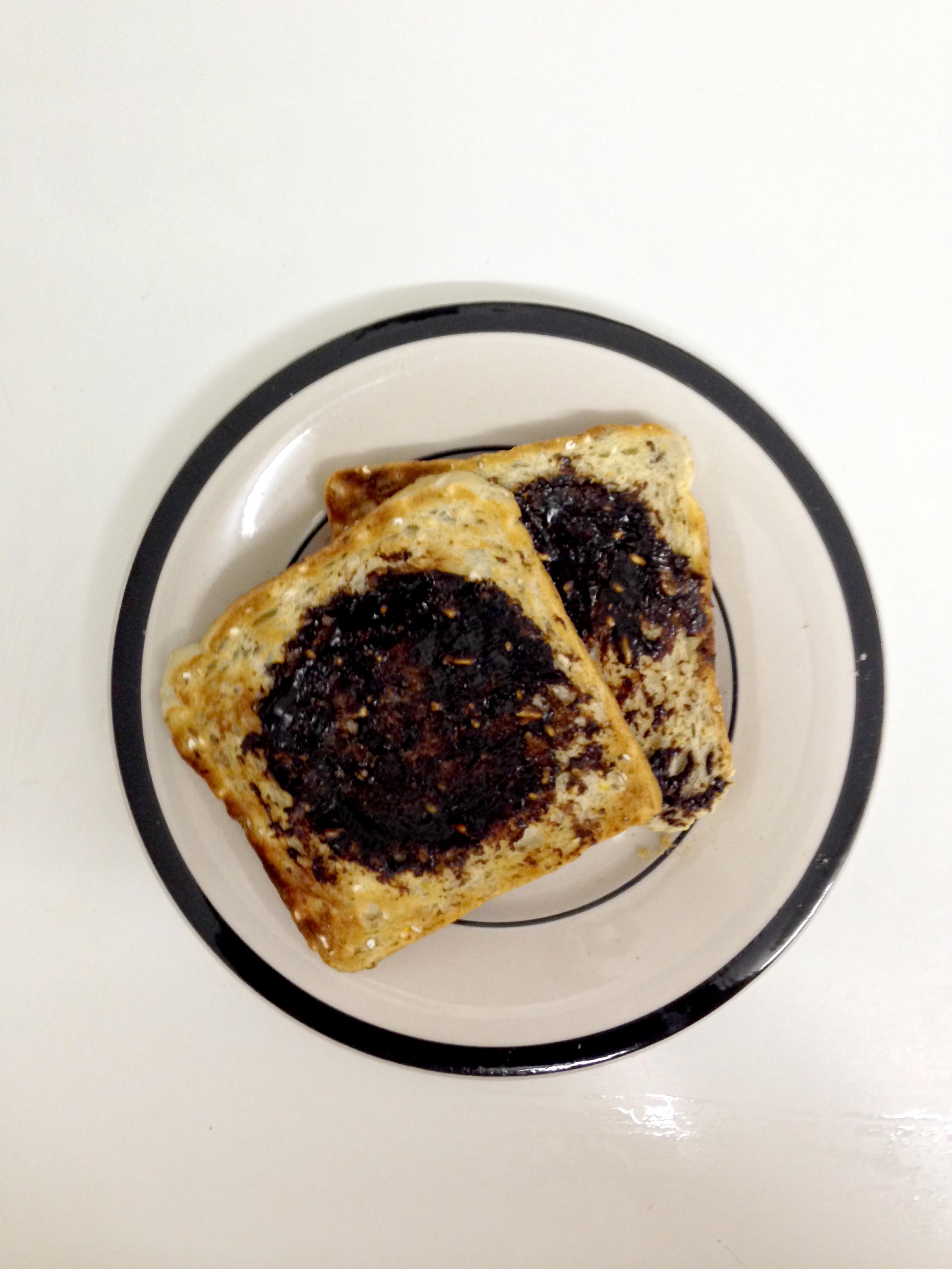 Vegemite on toast, Bread, Breakfast, Spread, Toast, HQ Photo