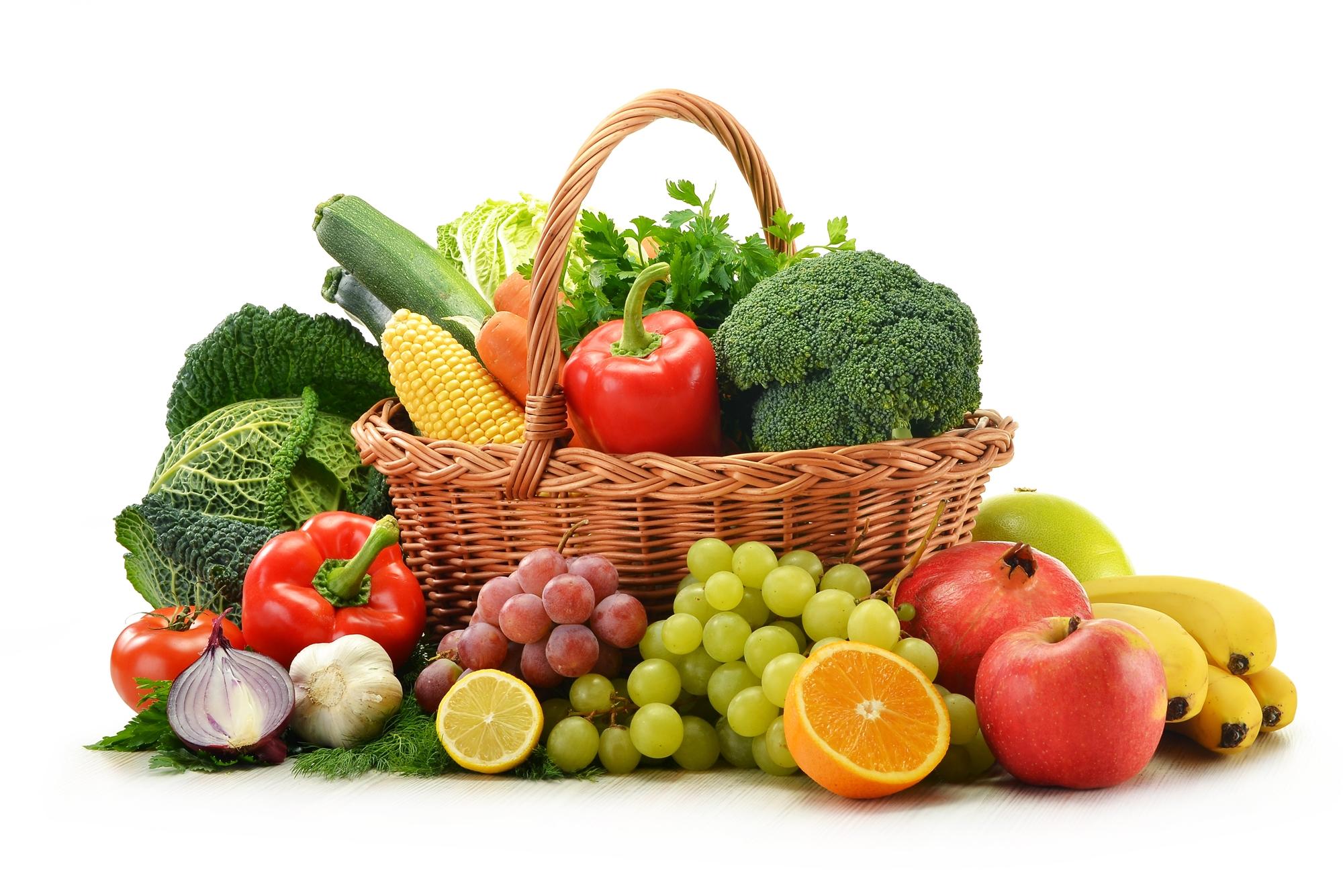 Vegetable basket photo