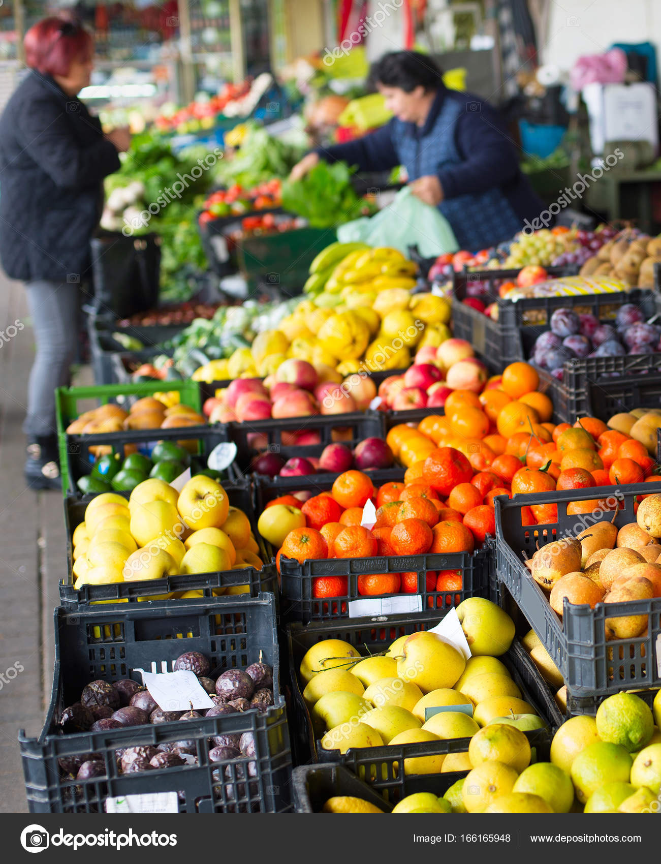 Fruits and vegetables stall. Portugal — Stock Photo © joyfull #166165948