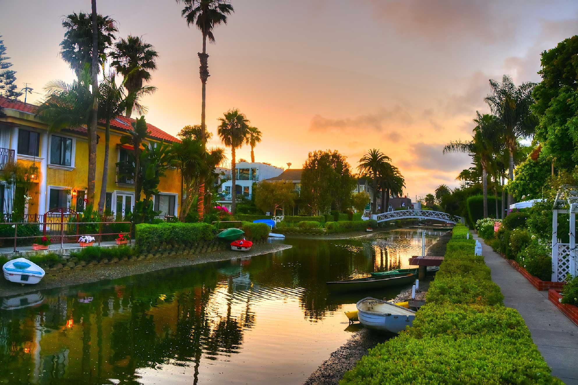 Video: Canals of Venice Beach – Venice Beach