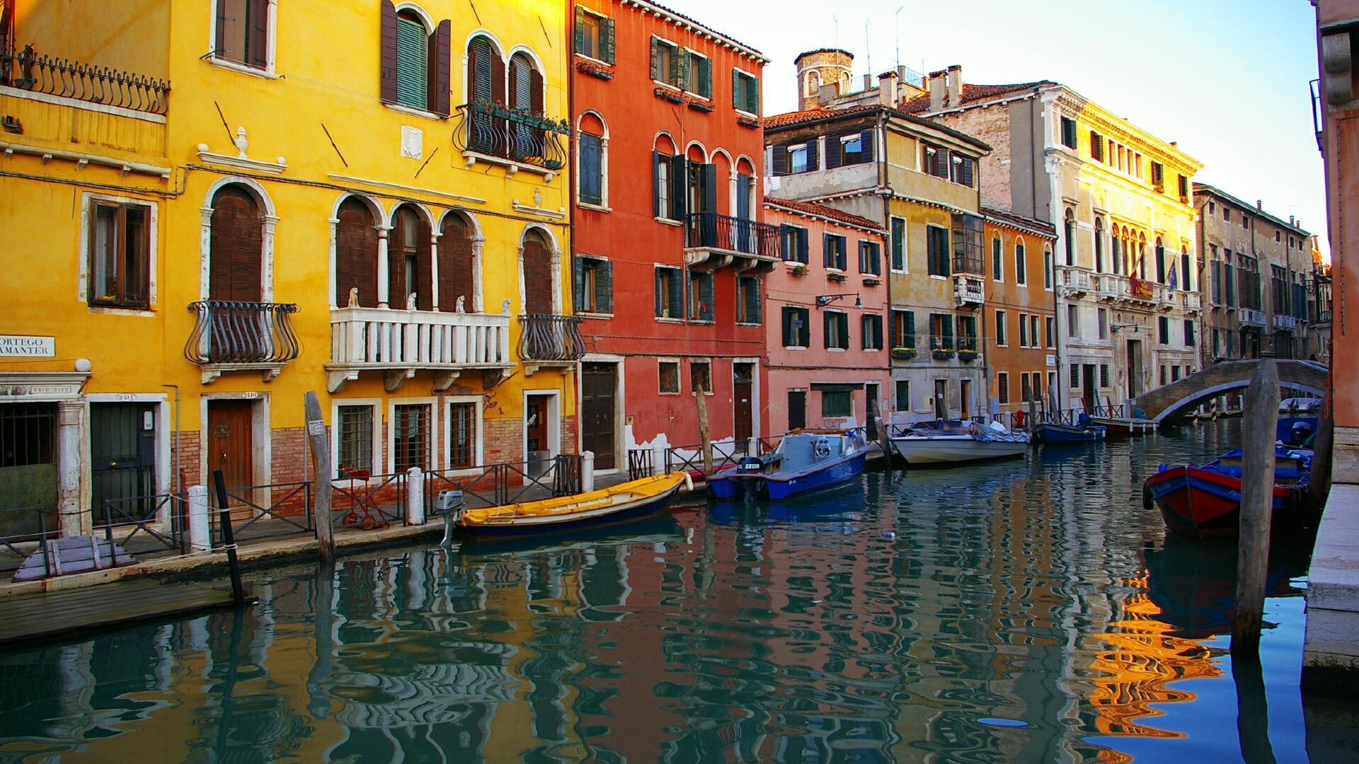 Download Buildings Venice Wallpaper 1920x1080 | Wallpoper #370298