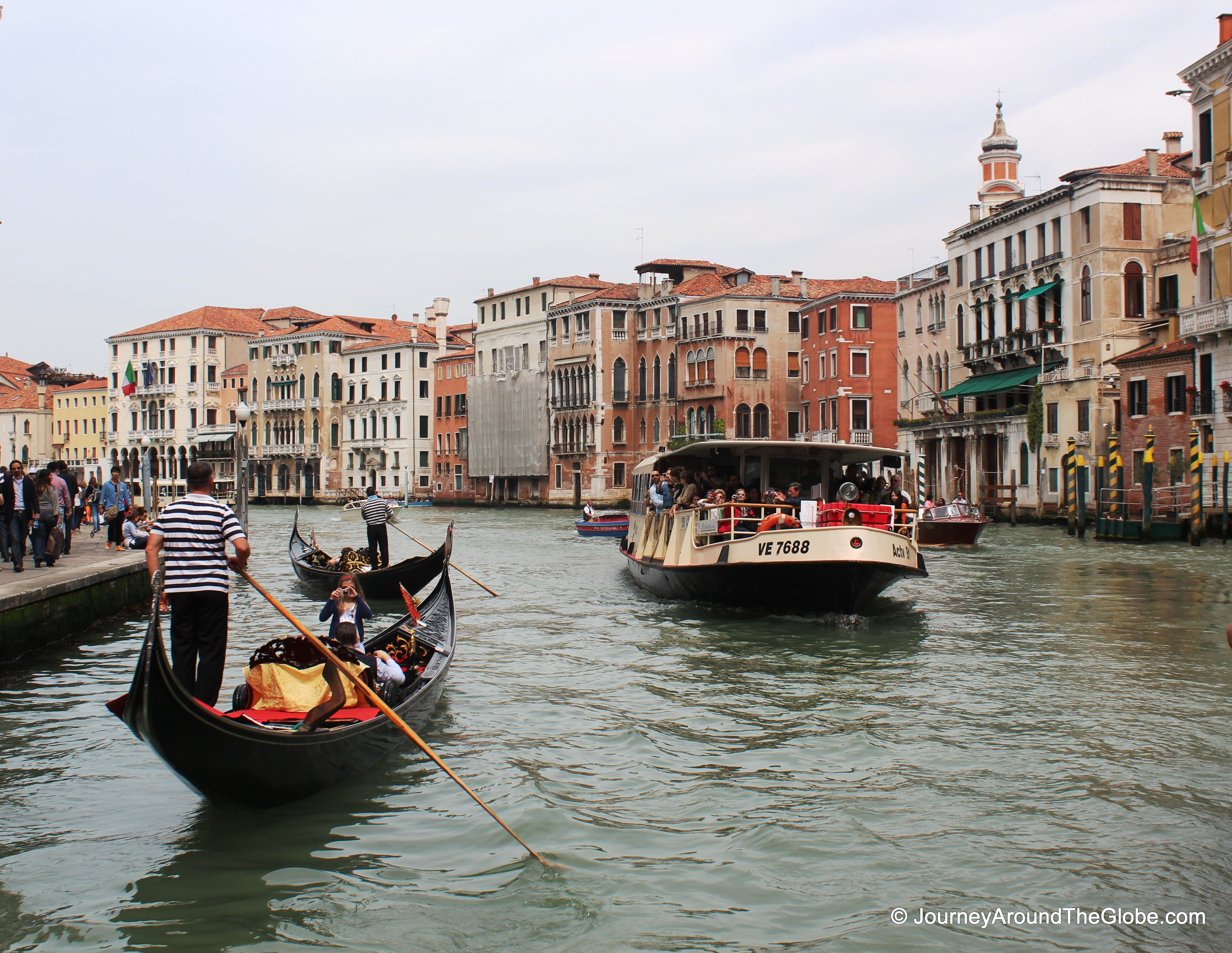 A city on water – Venice, Italy   Journey Around The Globe