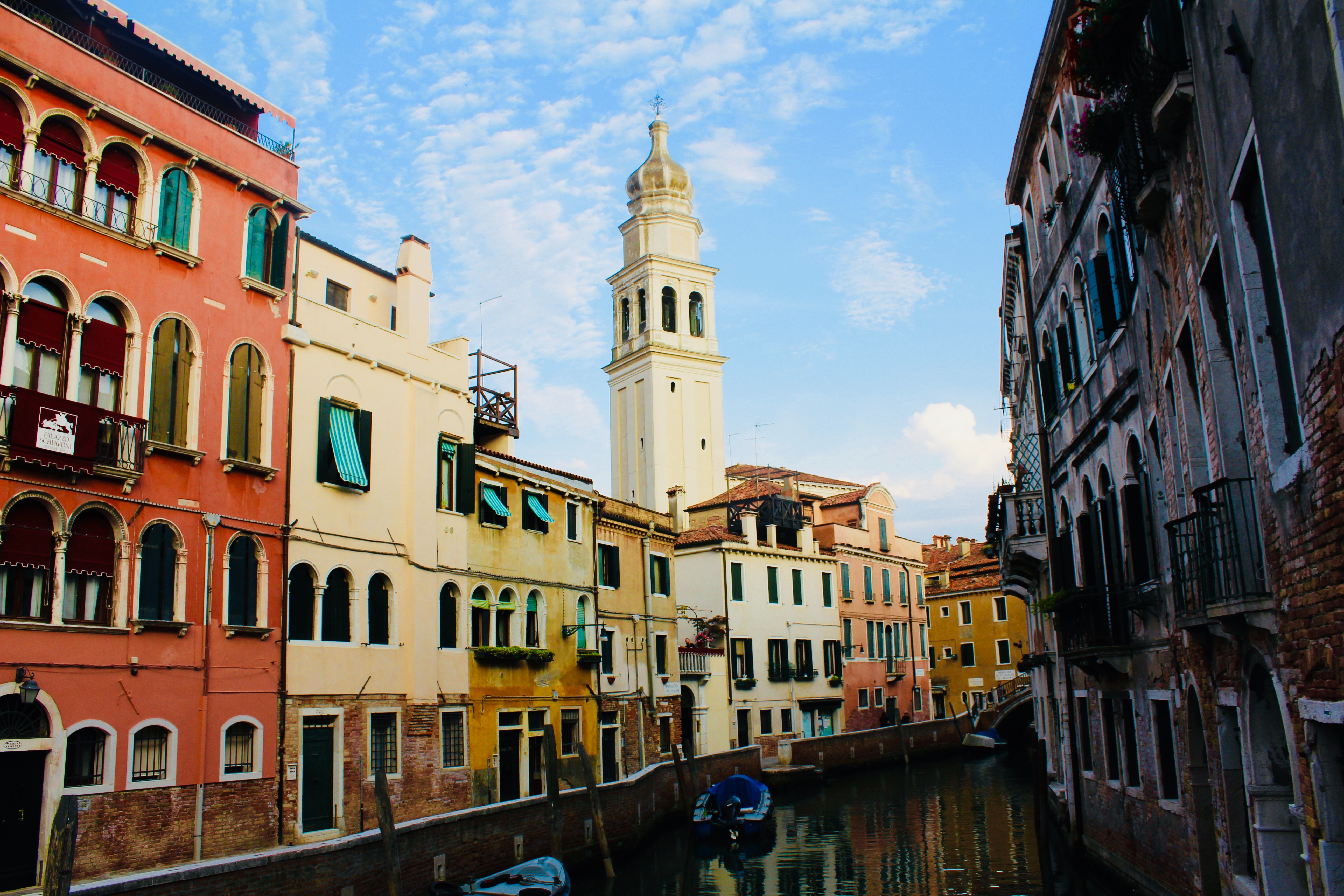 Venice, Italy Town, Ancient, Sky, Water, Venetian, HQ Photo
