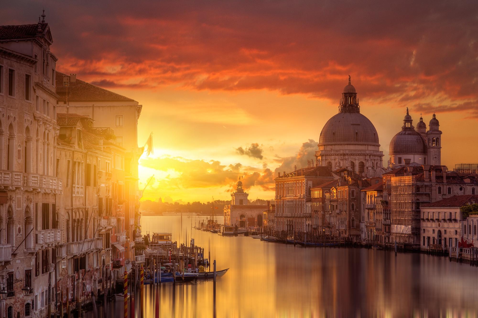 Sunset in Venice : pics