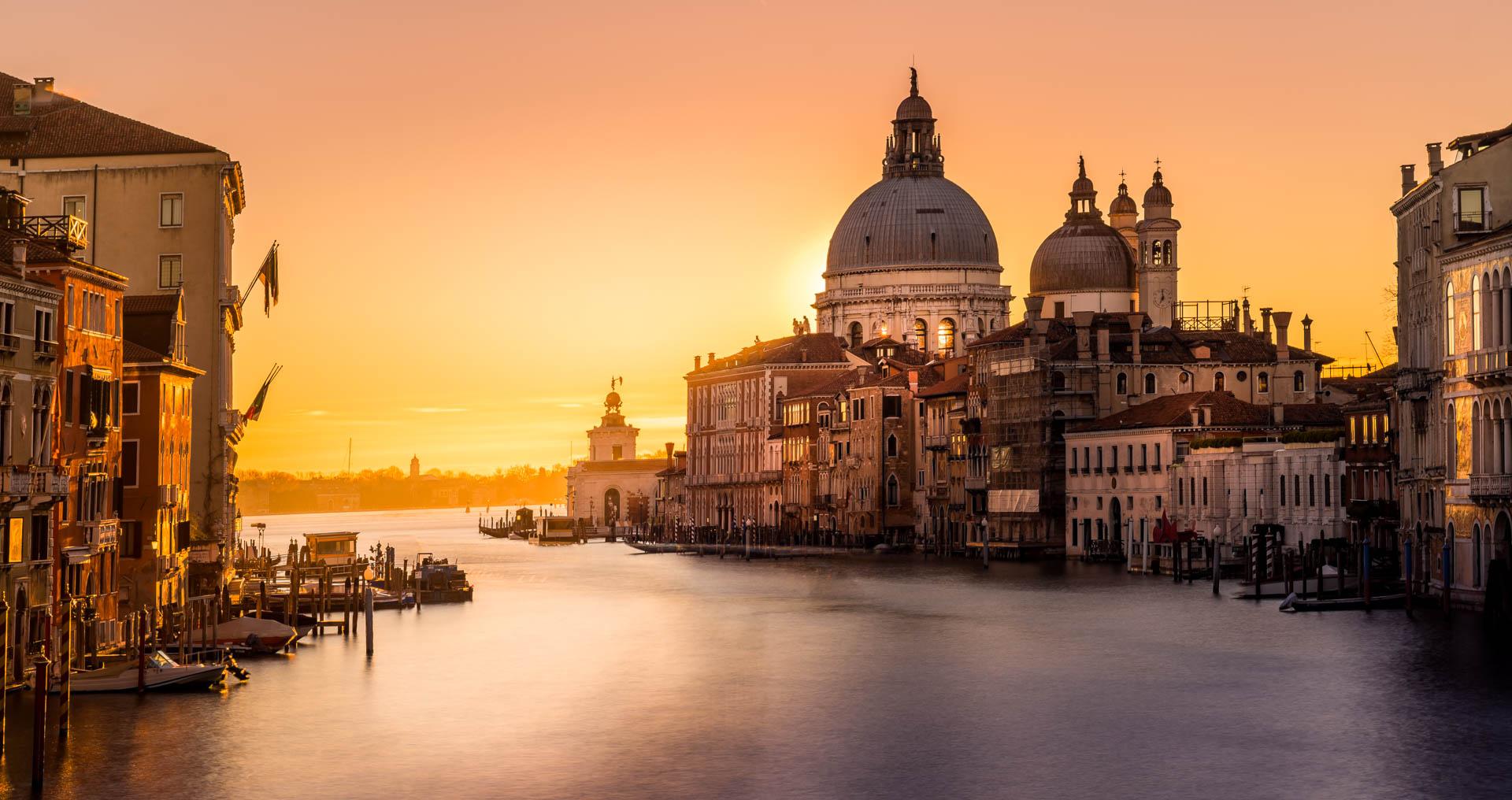 Blog | Sunset over Venice,