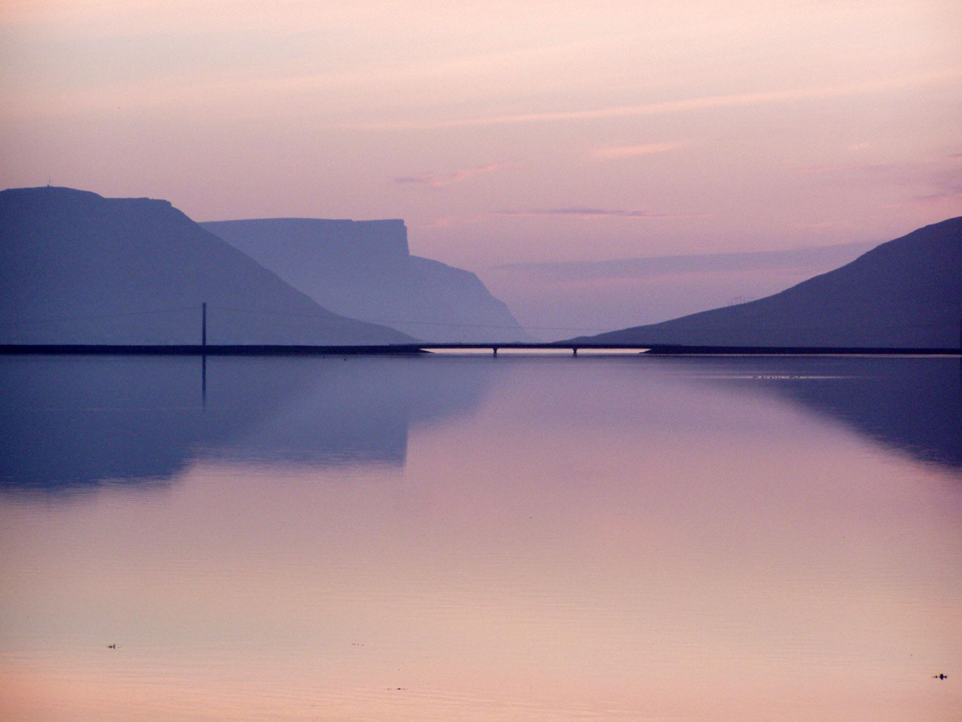 Vestfjords in iceland photo