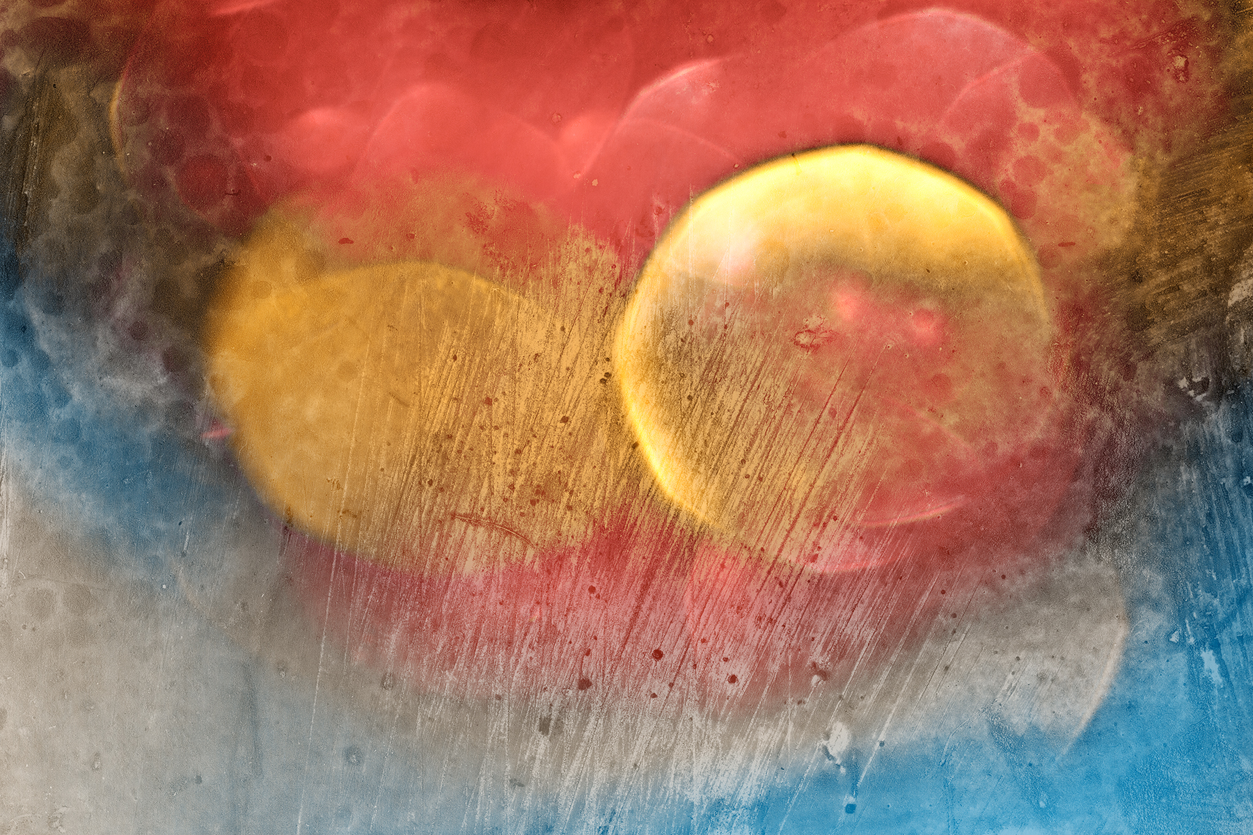 Vibrant Bokeh Grunge, Abstract, Round, Soiled, Soft, HQ Photo