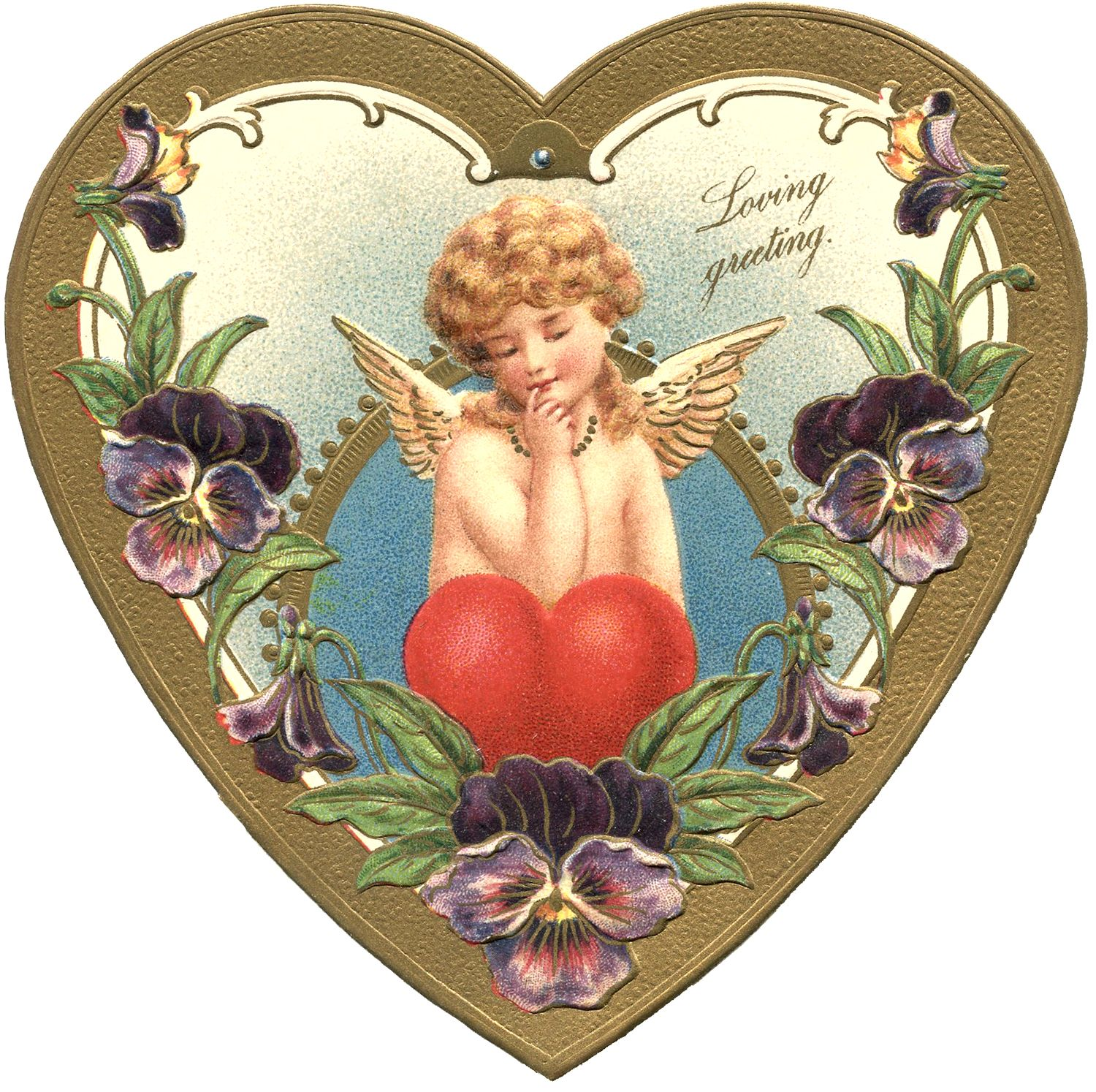 Victorian Valentine Image | Valentine images, Graphics fairy and ...