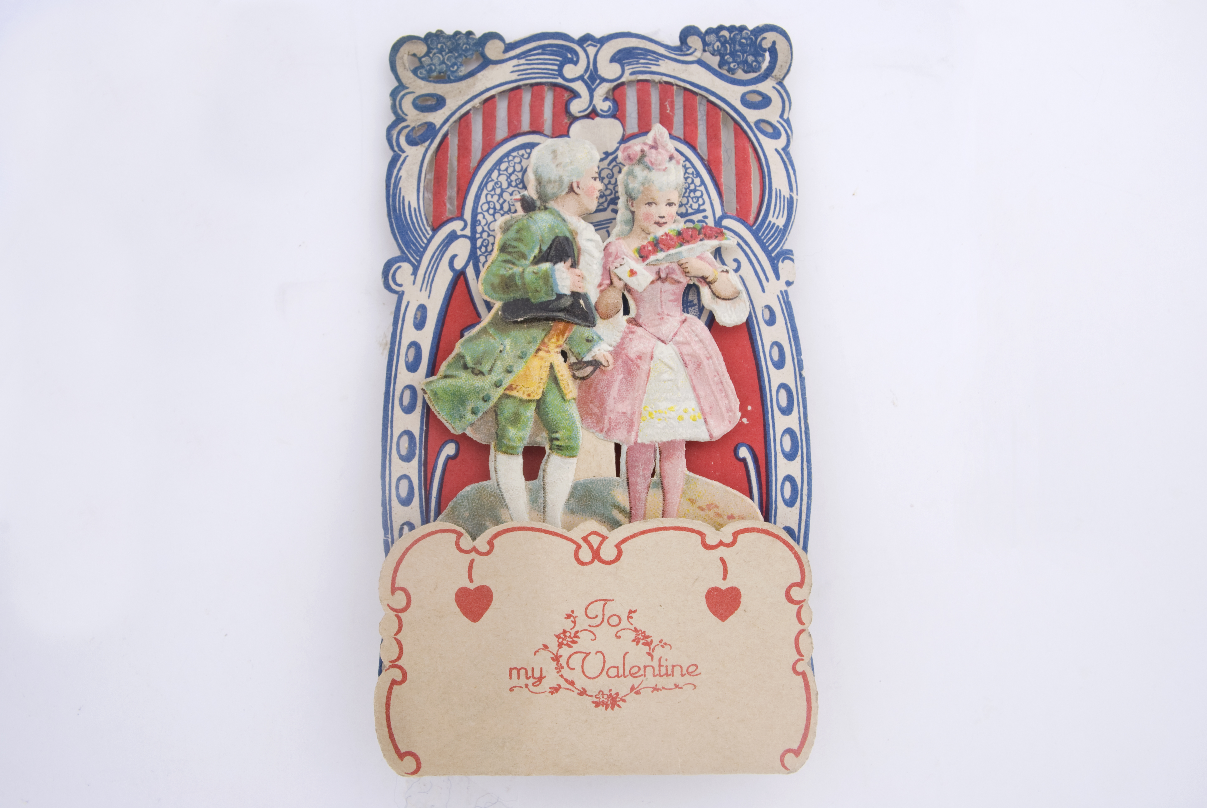 Victorian Valentine Card, Antique, Card, Isolated, Valentine, HQ Photo