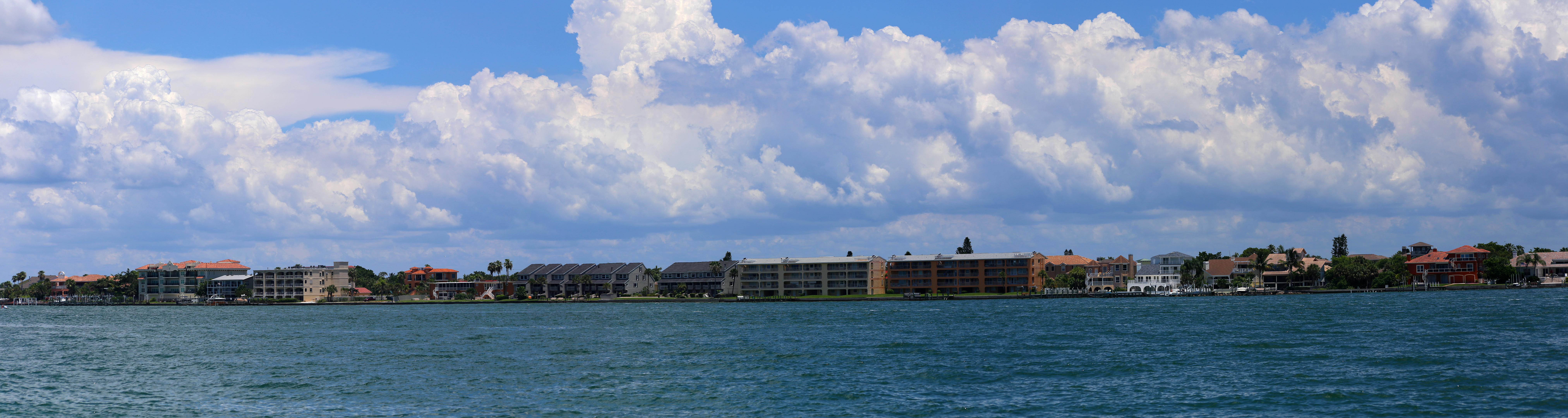 View from pass-a-grille way on pine key island, tampa bay area, fl photo