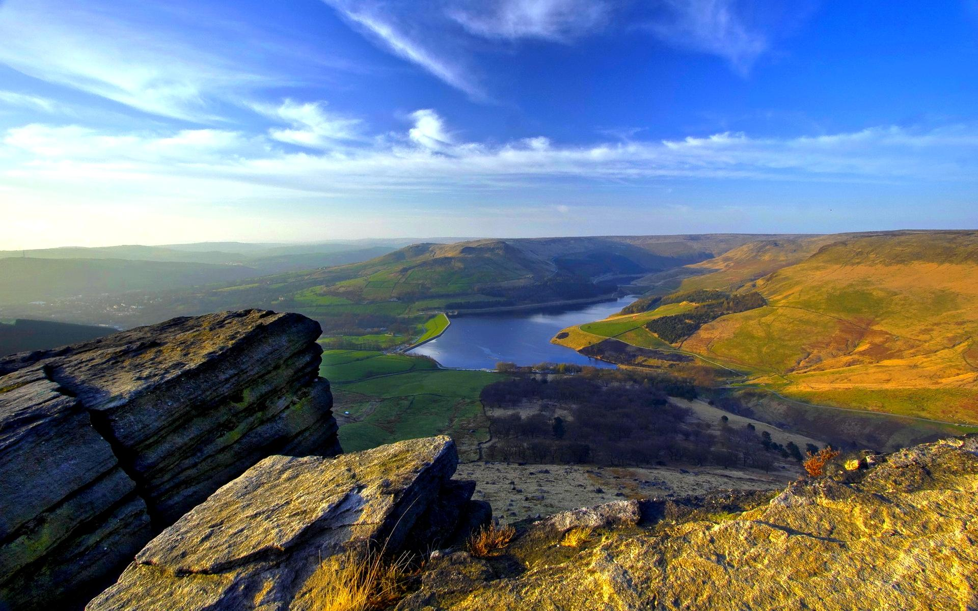 A View From Mountain wallpaper | nature and landscape | Wallpaper Better
