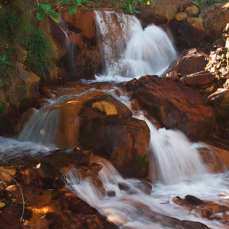 View of a waterfalls photo
