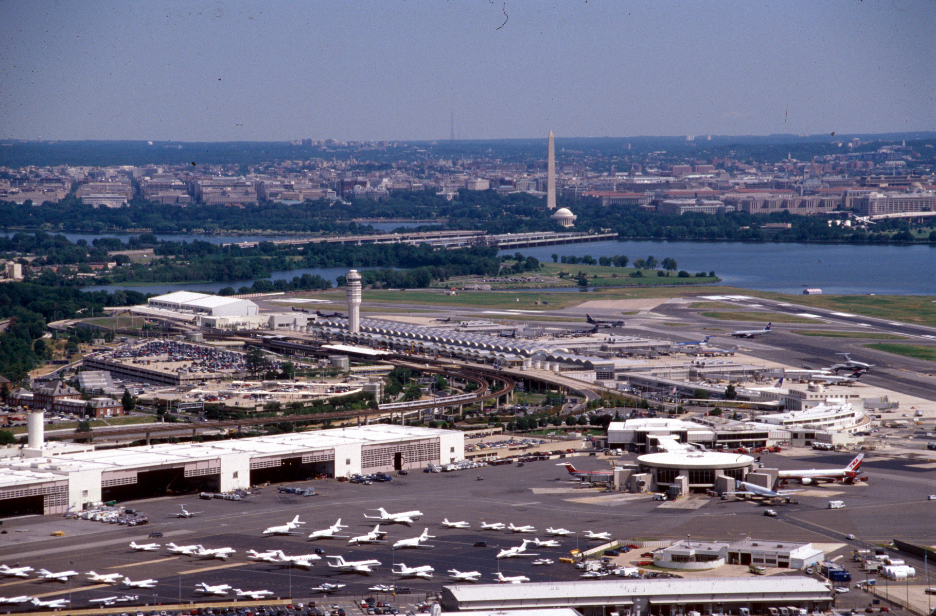 View of airport photo