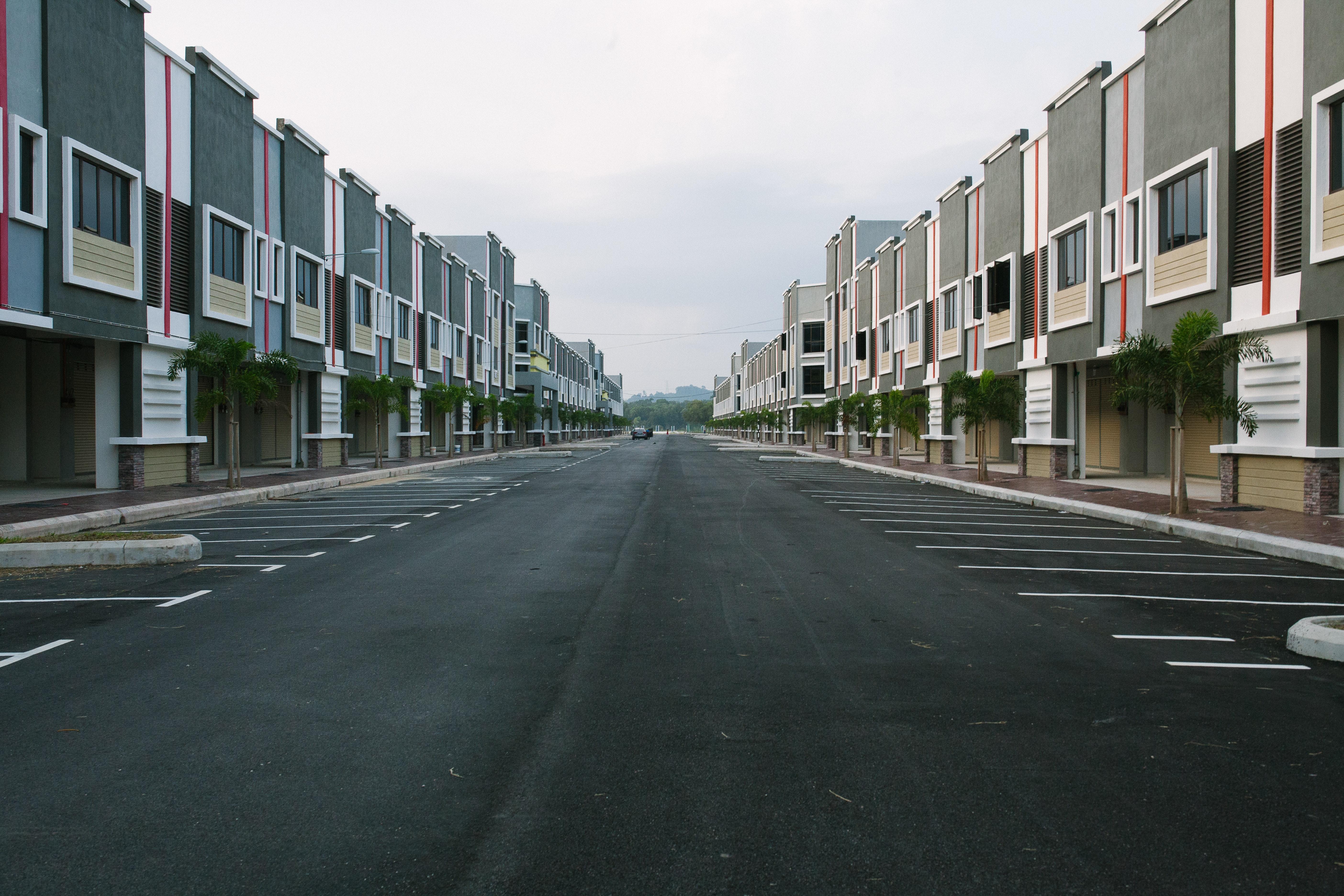 View of city street photo
