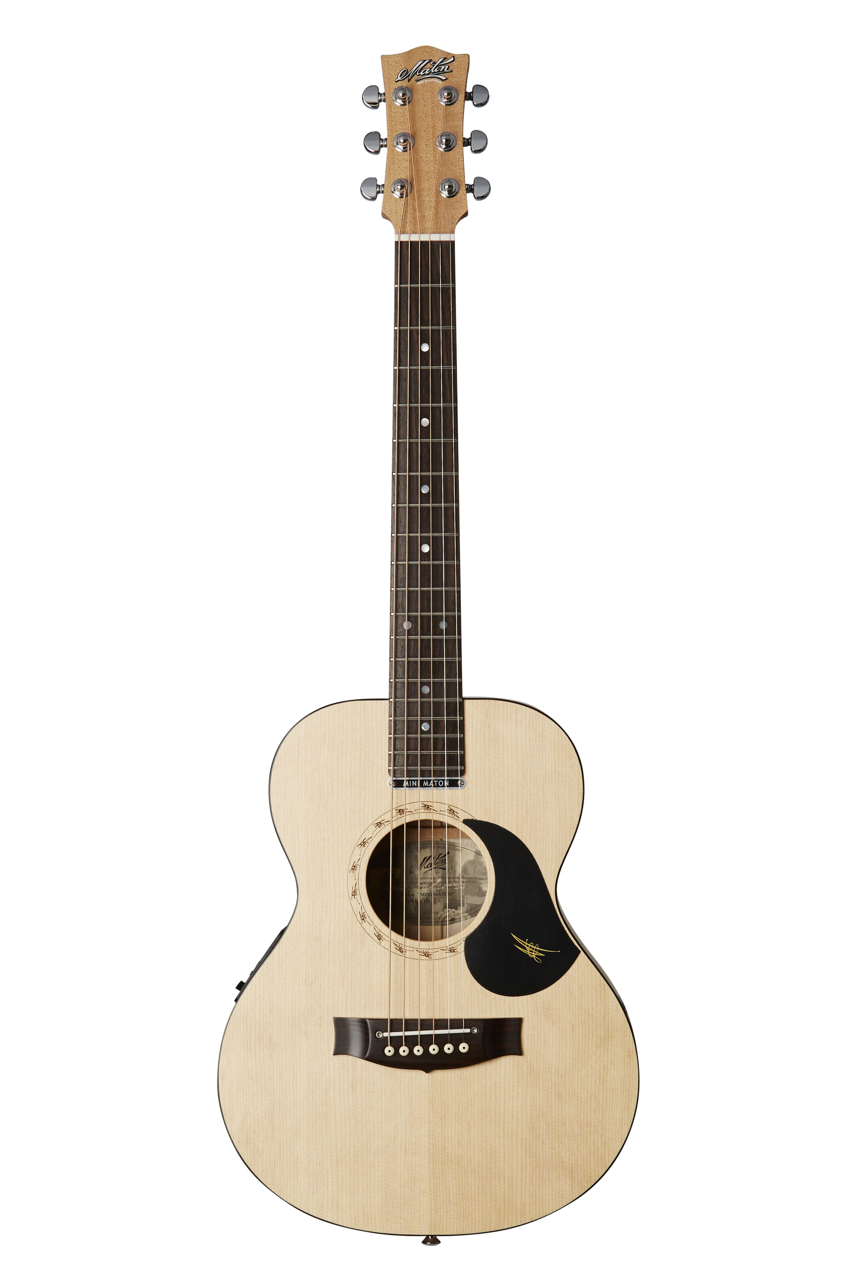 Australian, Handmade, Acoustic EM-6 from Maton Guitars. Front View ...
