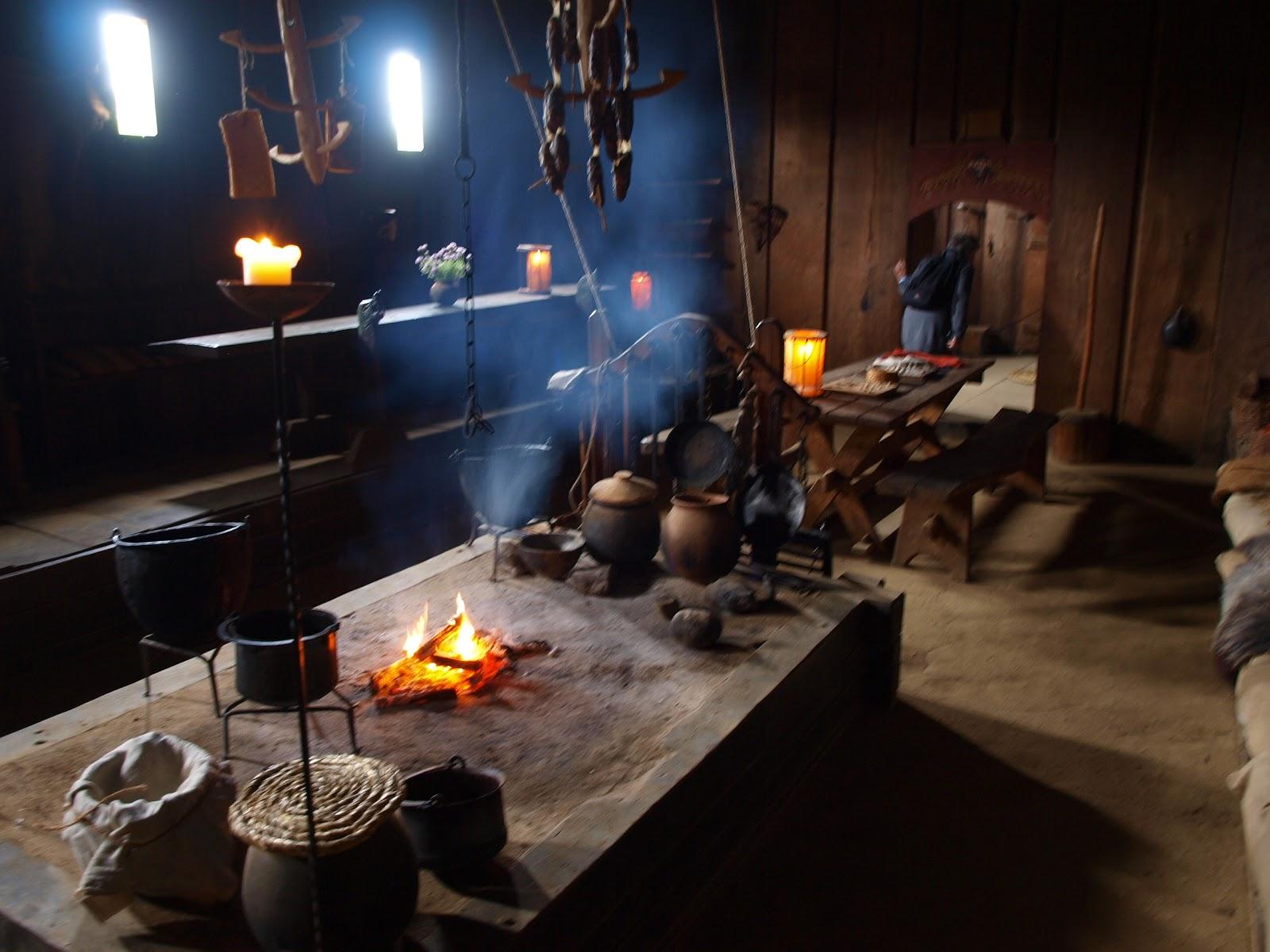 Viking fireplace photo