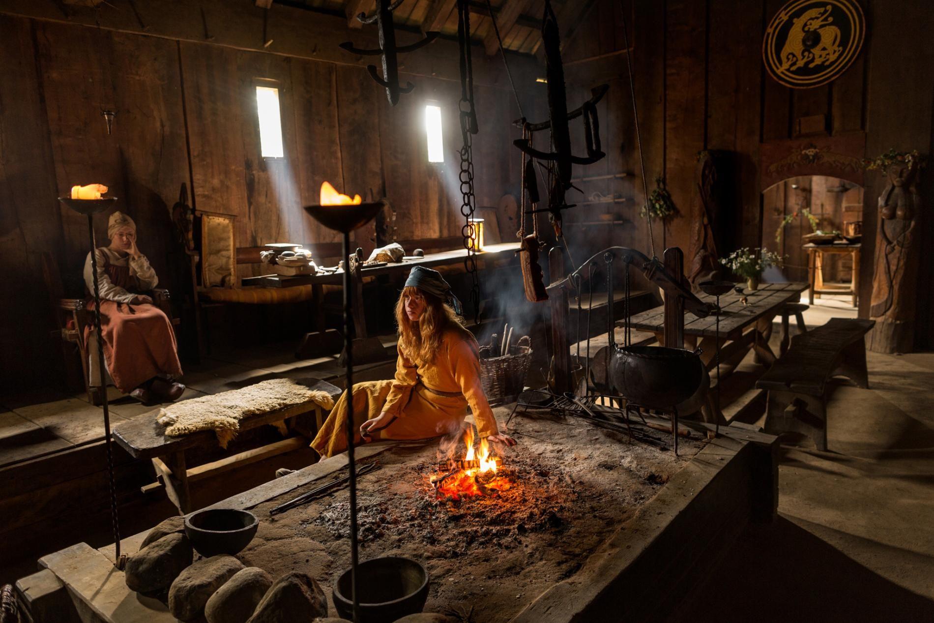 Ordinary Viking Fireplace Part - 2: Viking Fireplace
