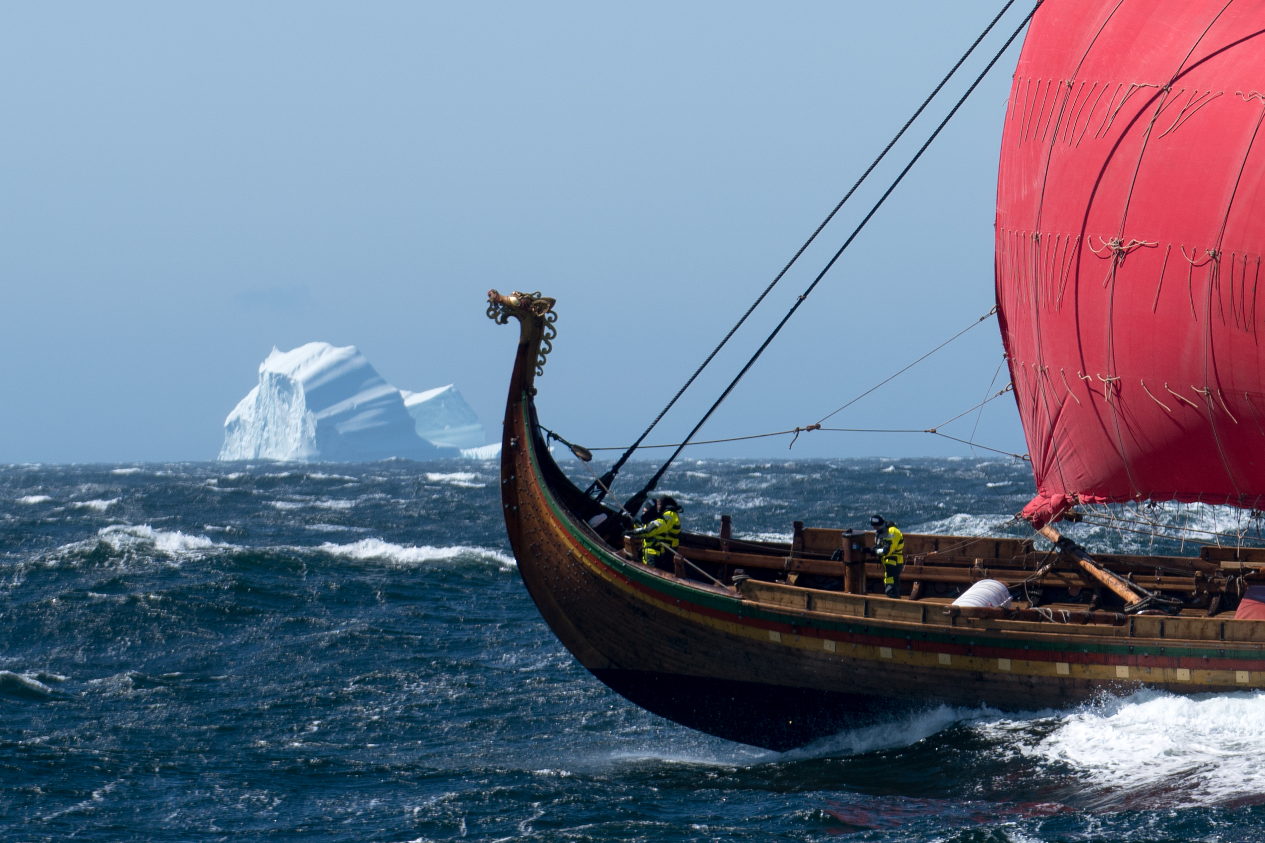 Board the World's Largest Viking Longship at Mystic Seaport this ...