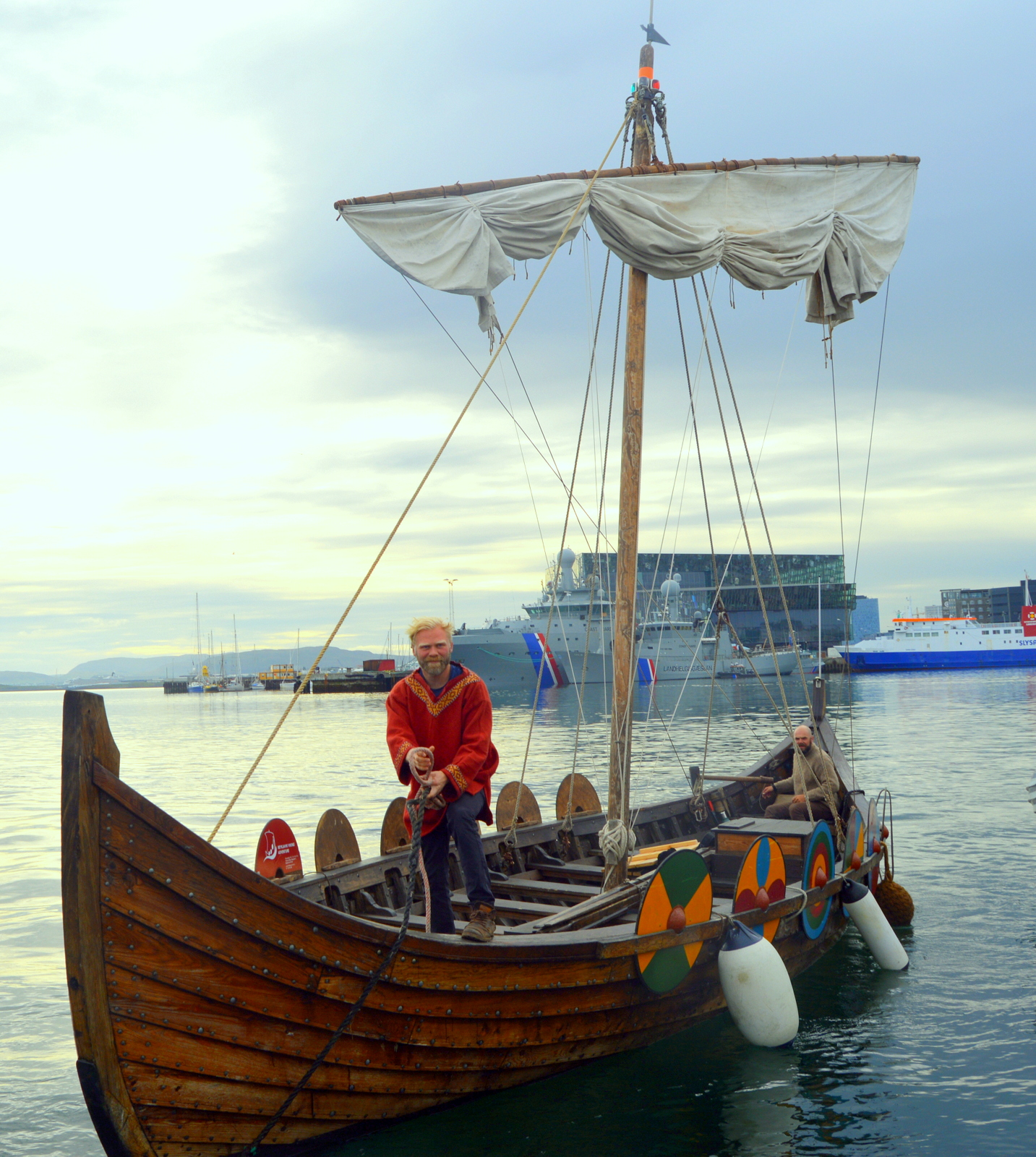 Sail like an Icelandic Viking in a Viking Ship from Reykjavík's Old ...