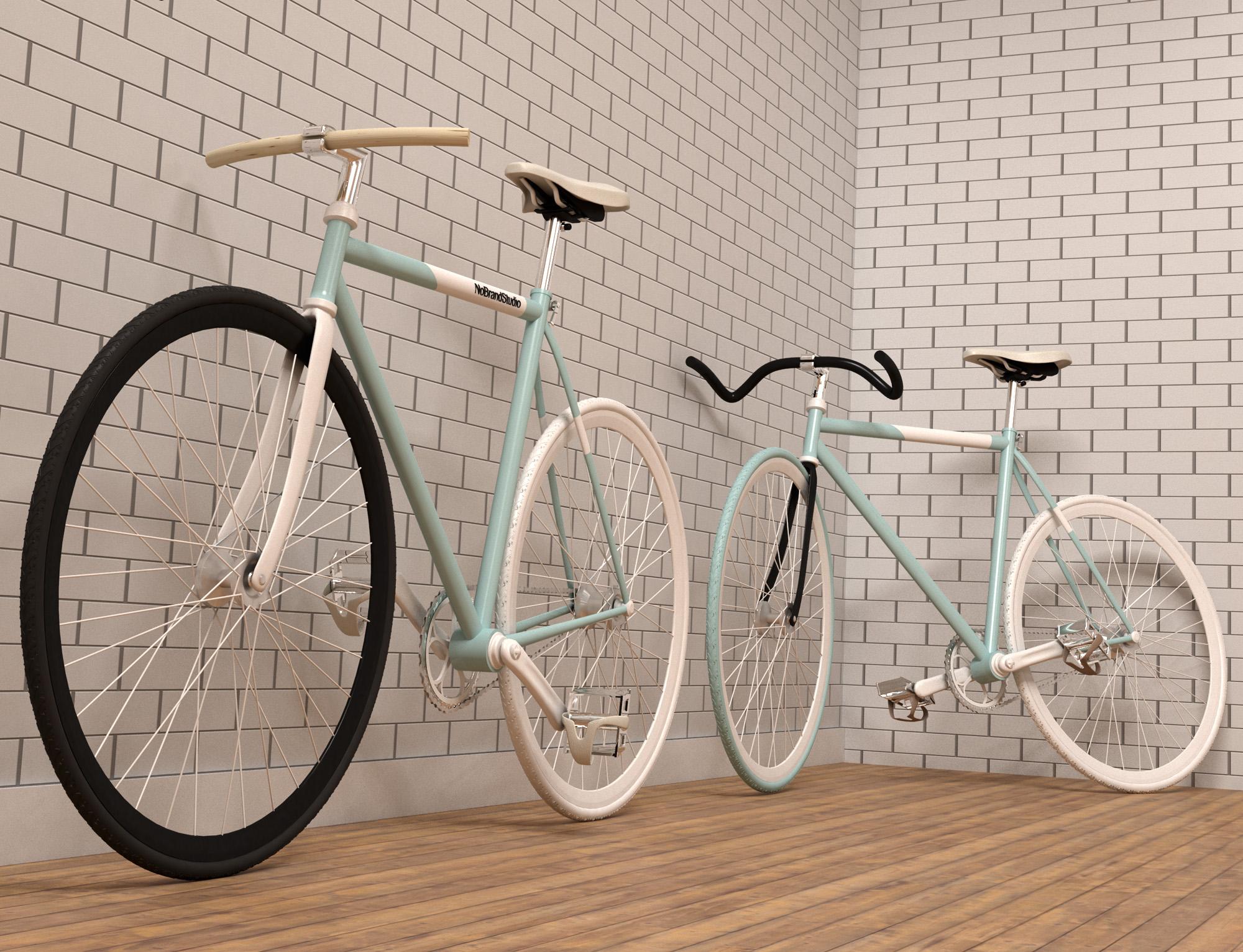 Vintage Bikes 3D by NOBRANDSTUDIO | 3DOcean