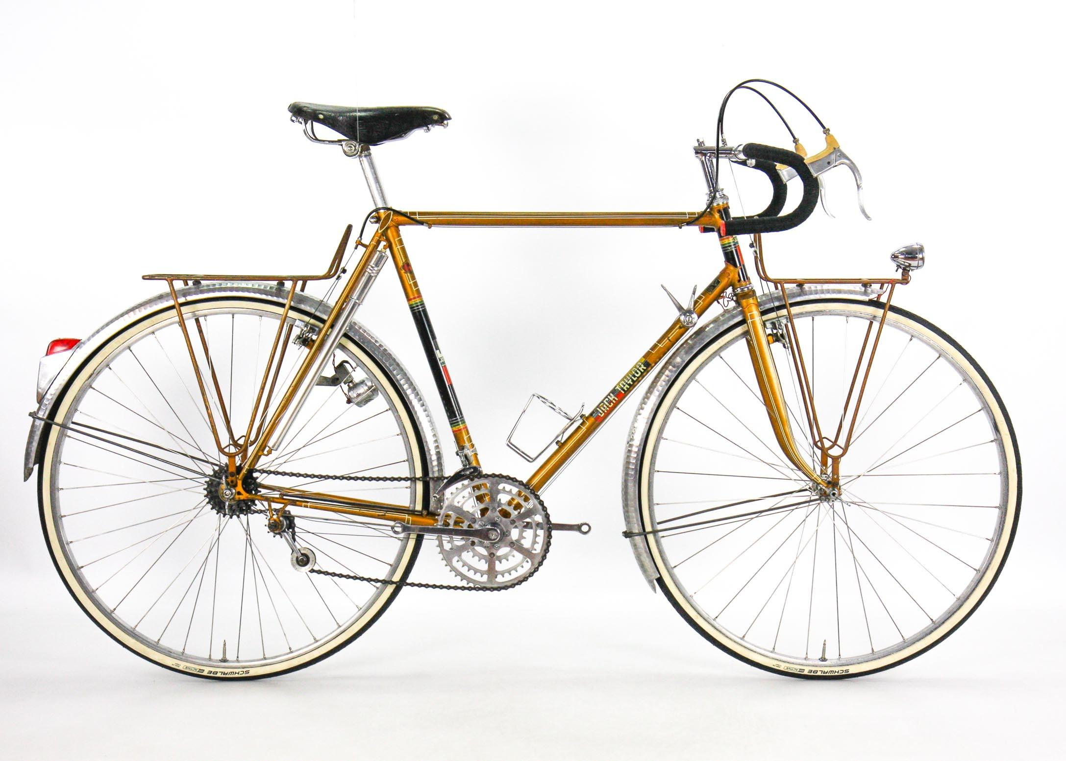 Steel Vintage Bikes - Jack Taylor Tourist Classic Touring Bike 1962
