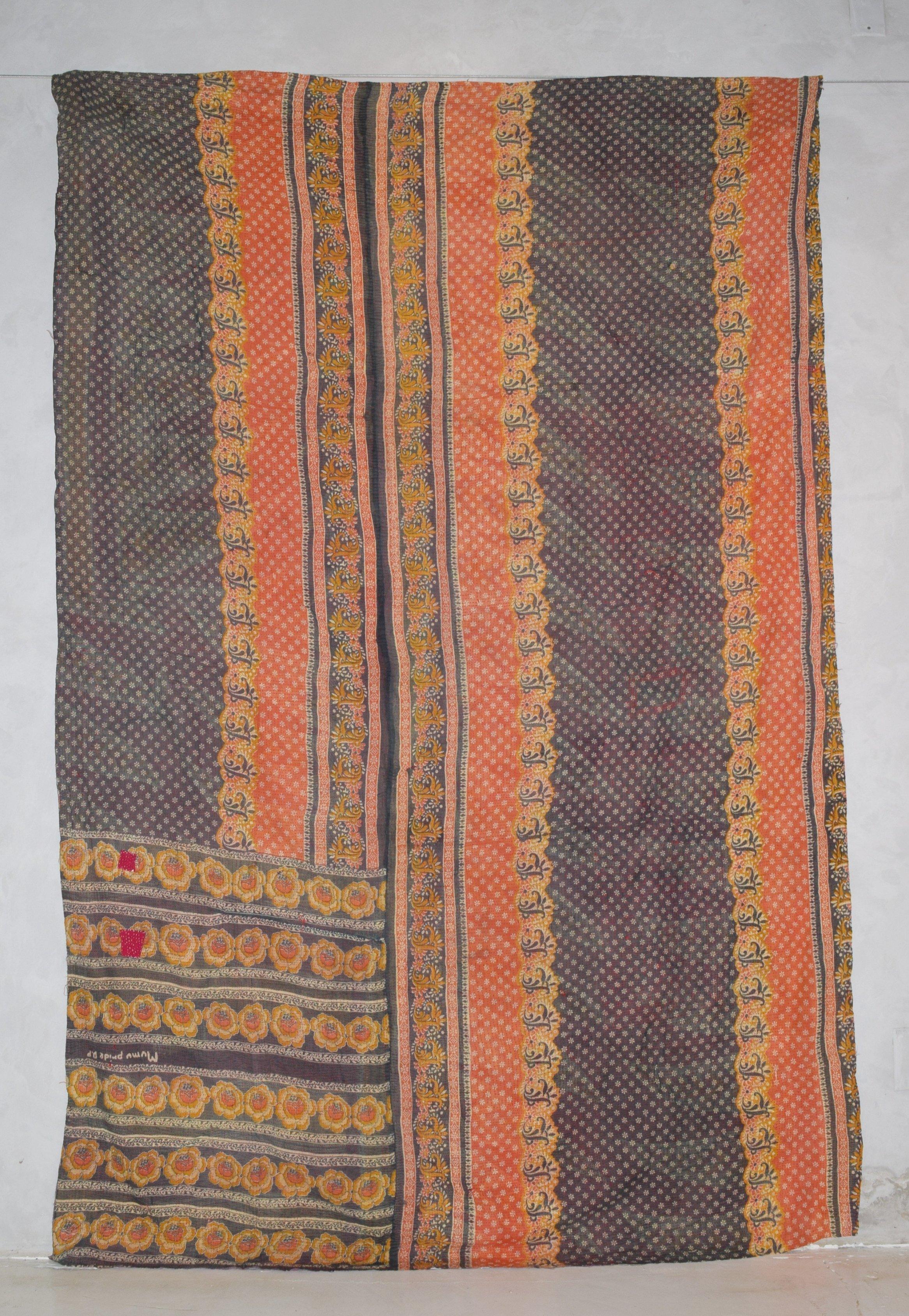 Vintage Blanket Full/Twin size – Vintage Kantha