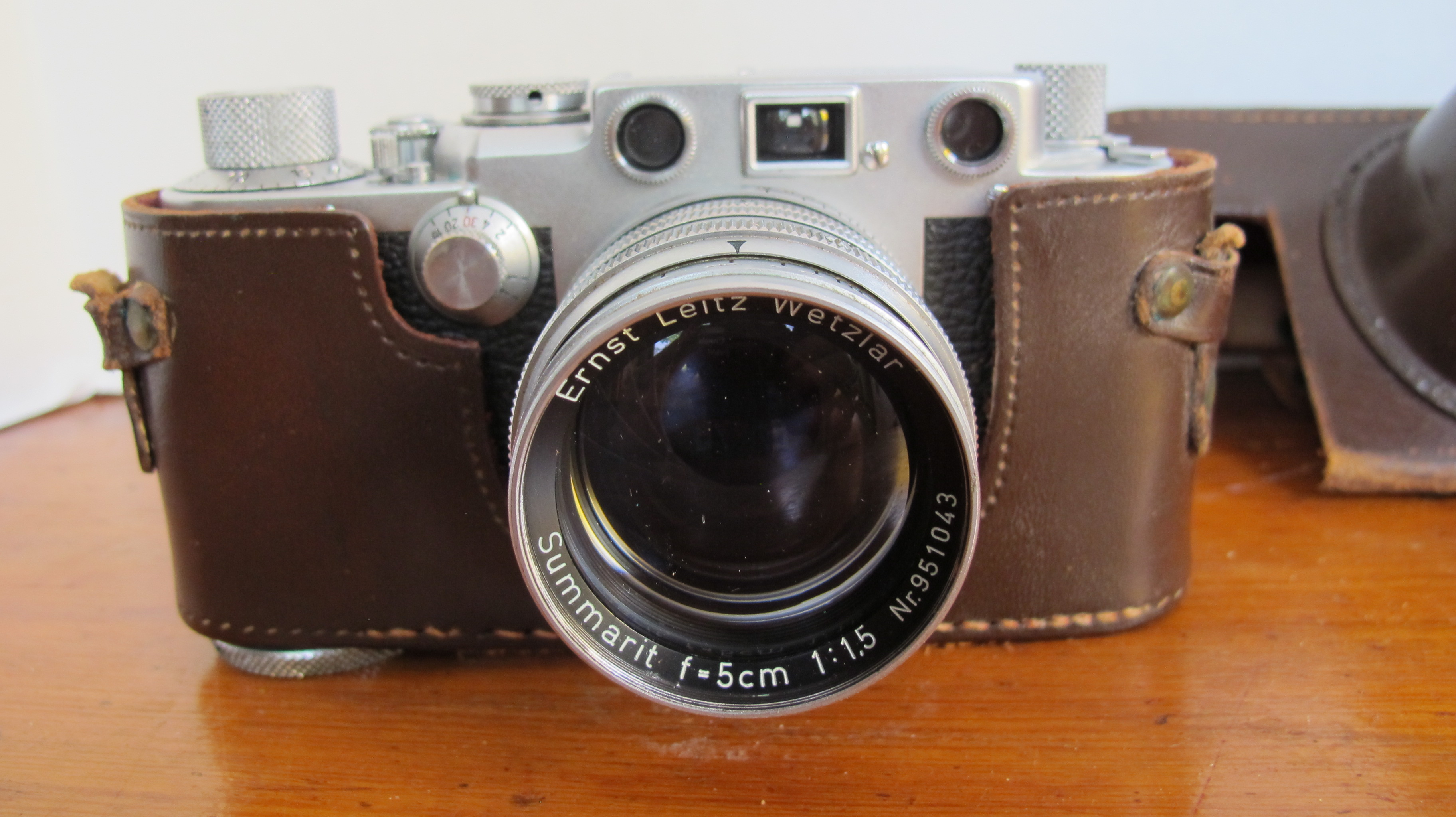Little Horse Books & Vintage | Leica Vintage Camera With Accessories