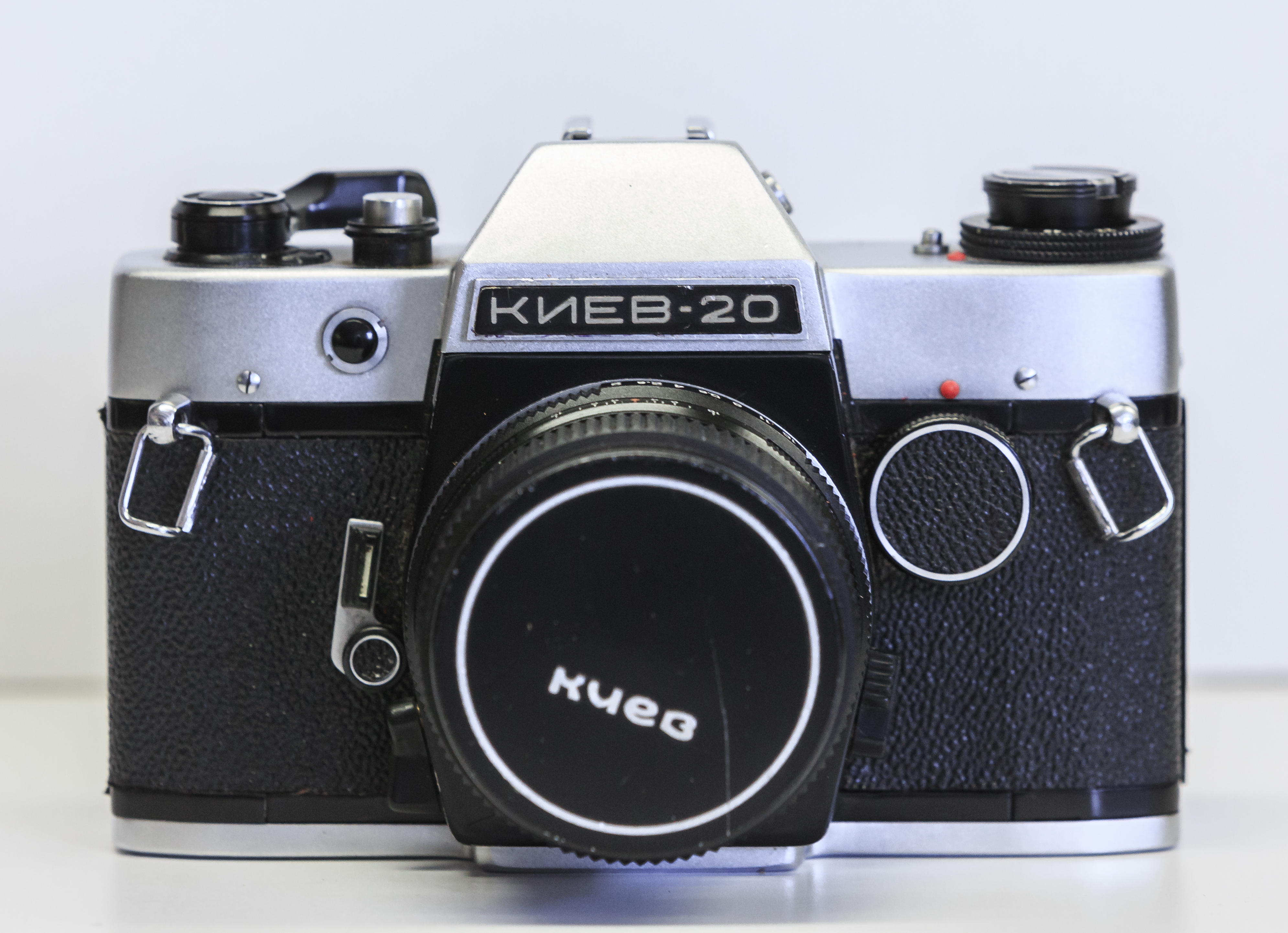 File:Soviet Russian Vintage Camera Kiev 20 Советский фотоаппарат ...