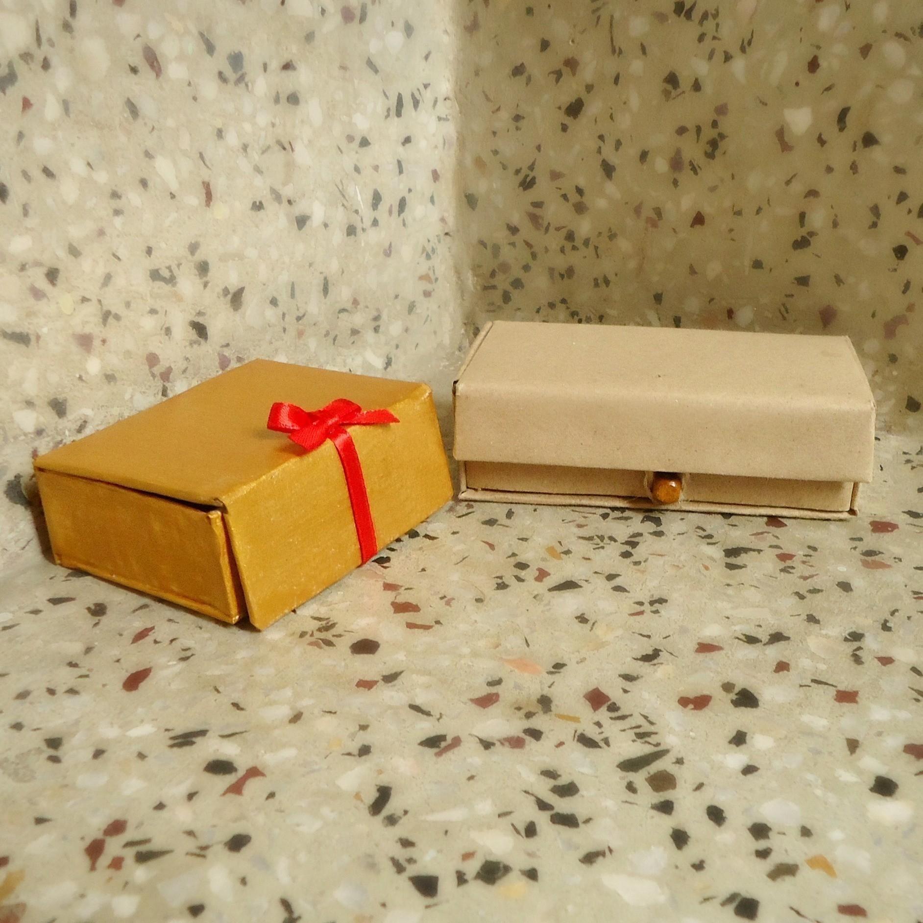 Make A Vintage Cardboard Box · How To Make A Box · Art on Cut Out + Keep