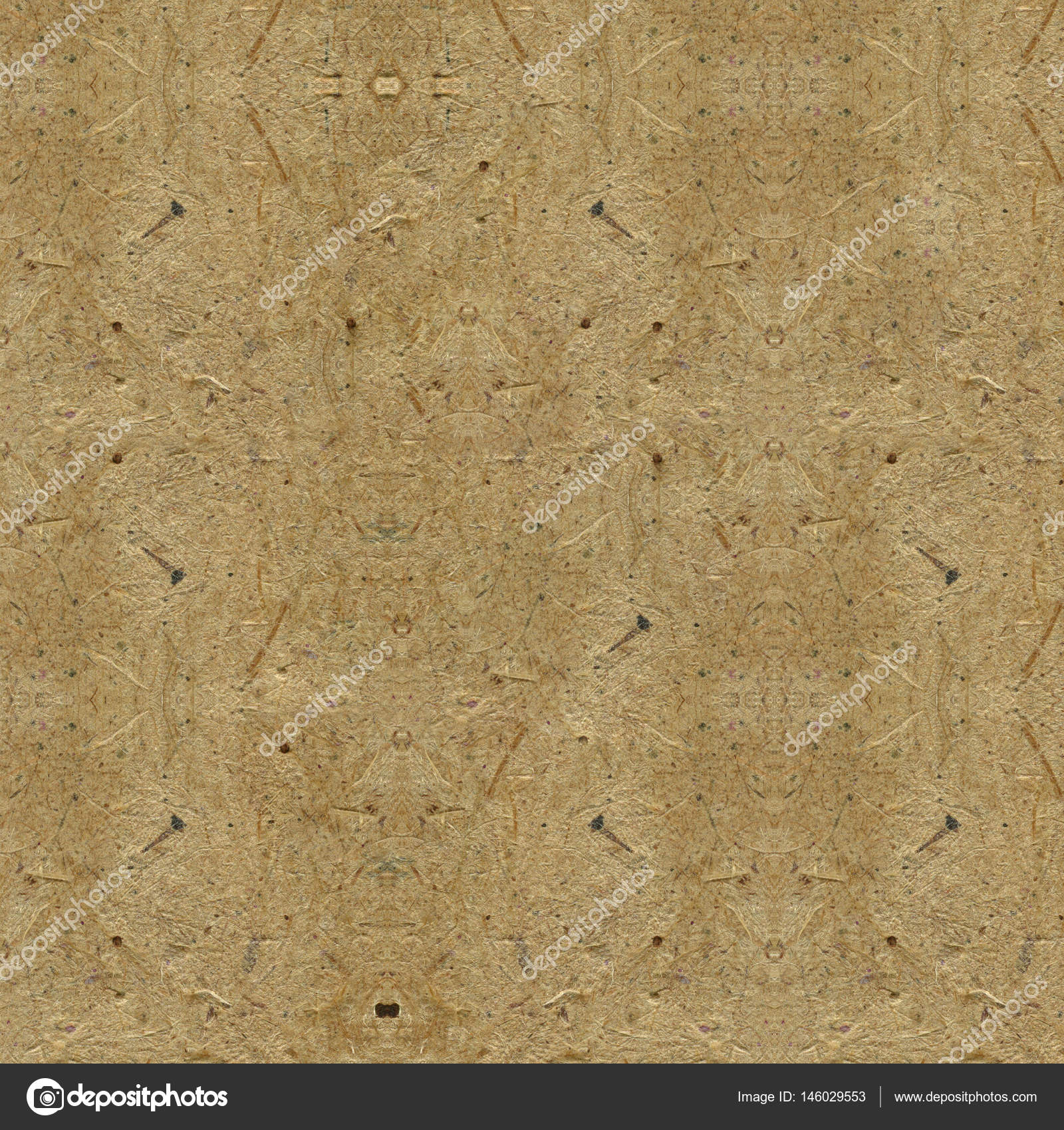 Brown craft vintage paper cardboard texture. — Stock Photo © K ...