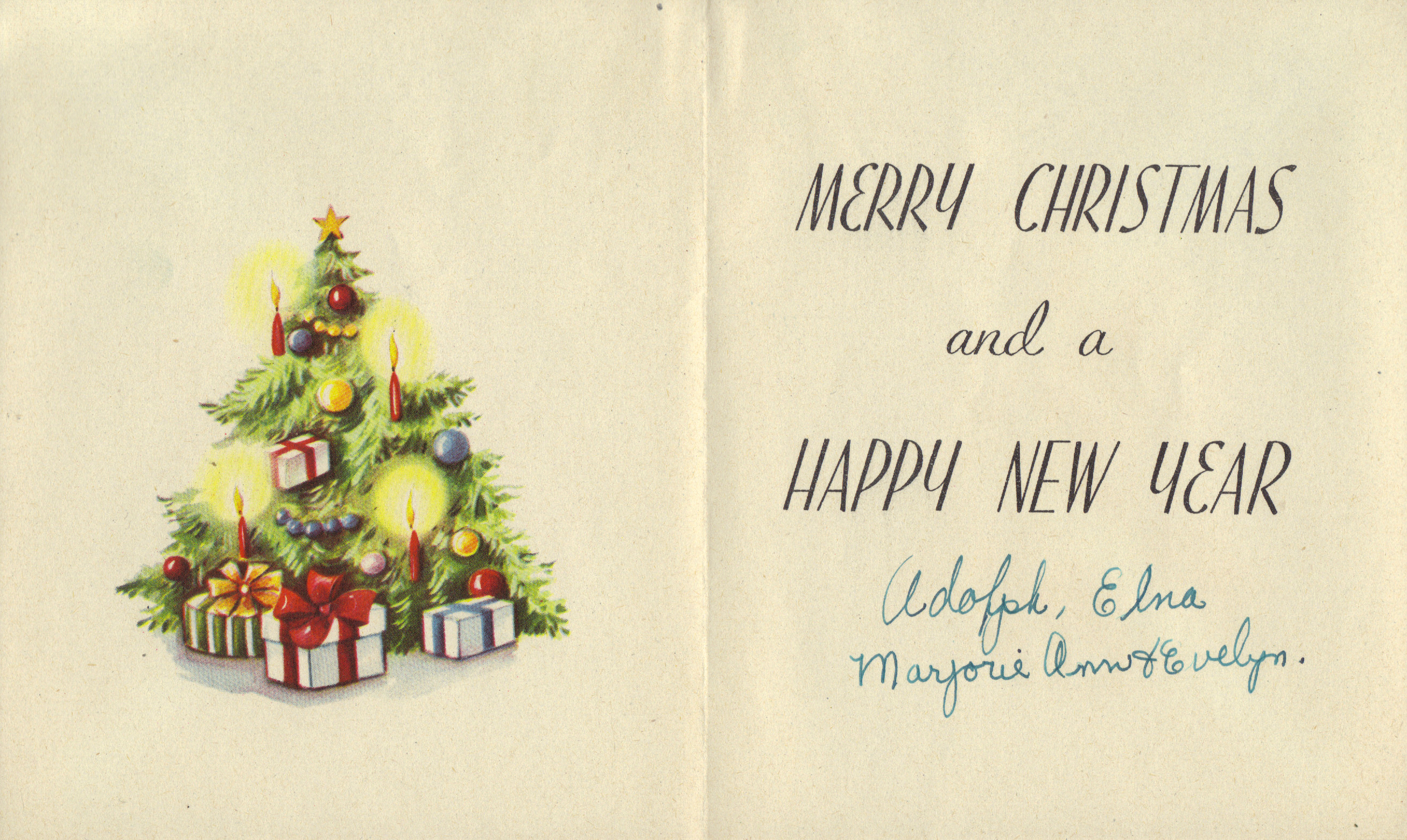 Free Photo Vintage Christmas Card Plant Post Picture Free