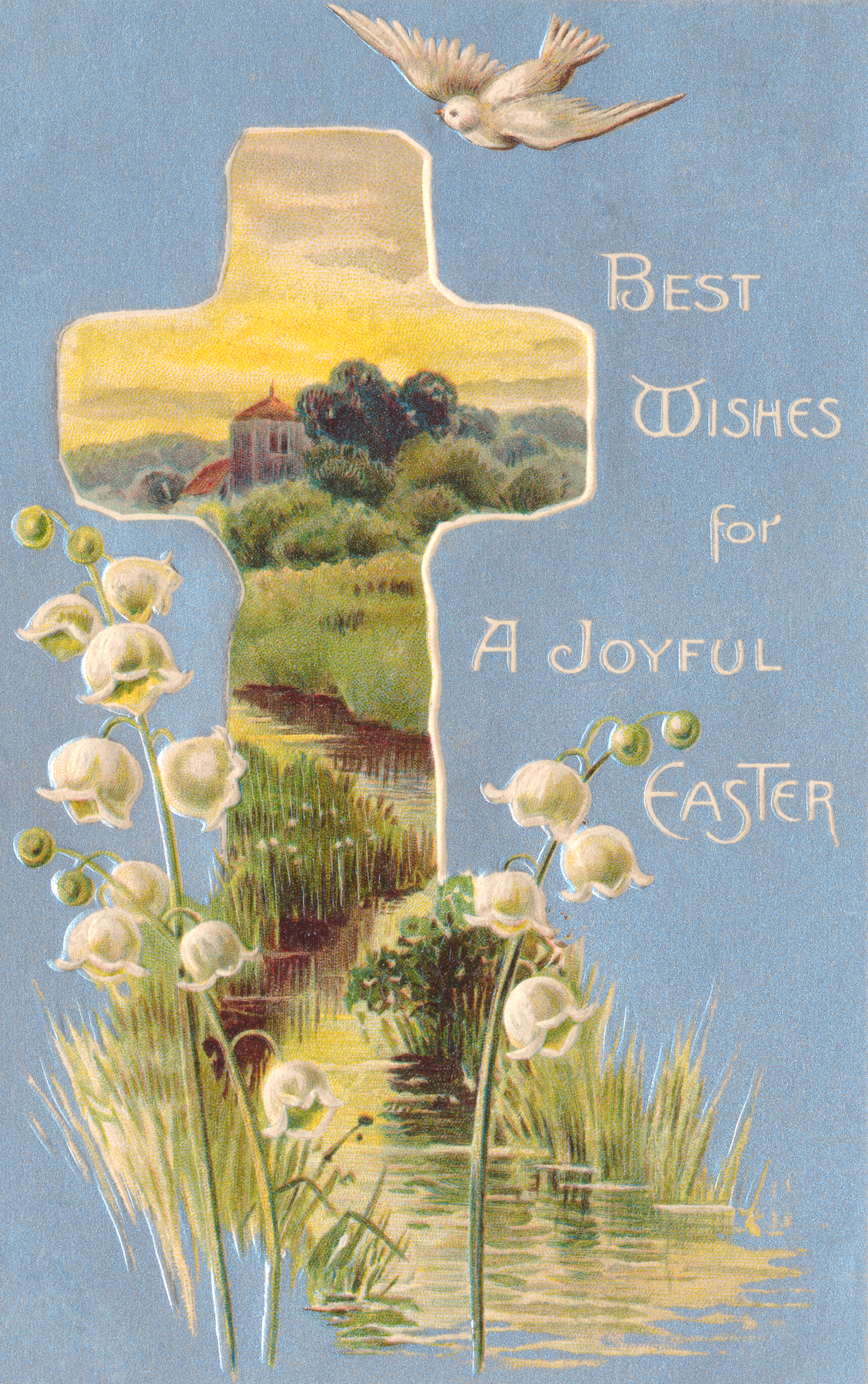 Free Photo Vintage Easter Greeting Card Nostalgic Old Nostalgia