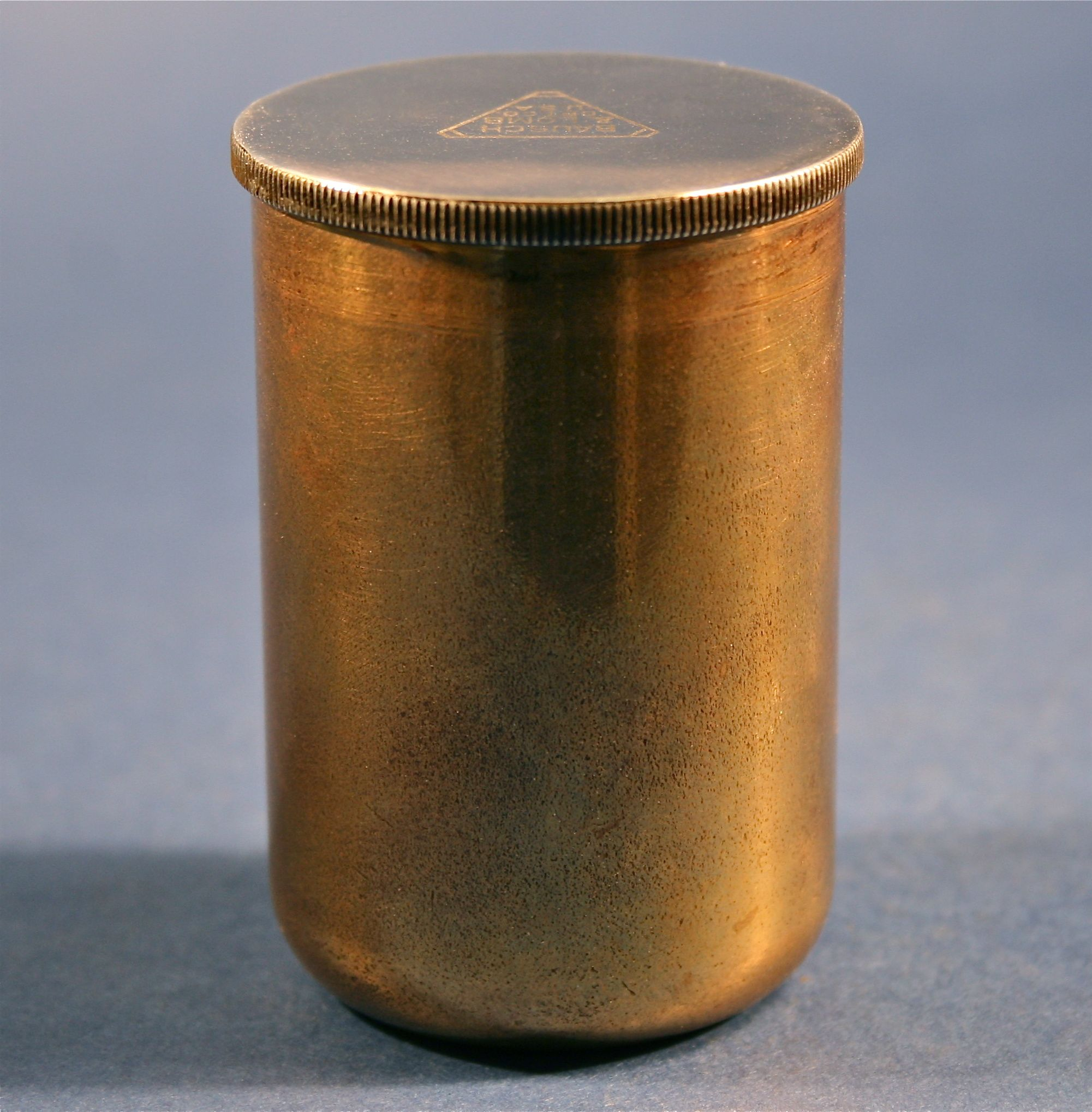 Vintage film canister photo