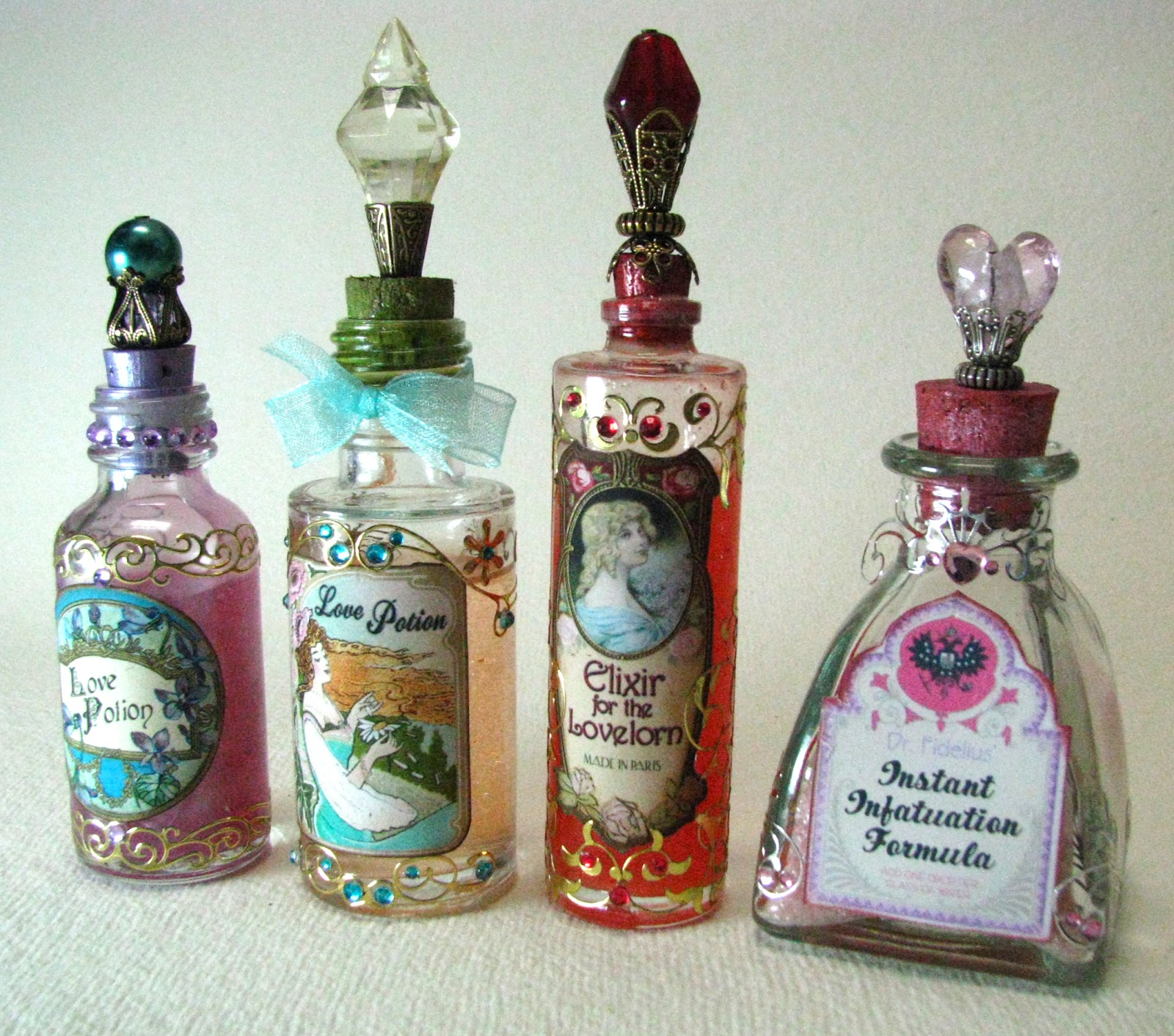 Are love potions for real? | Bottle, Altered bottles and Craft
