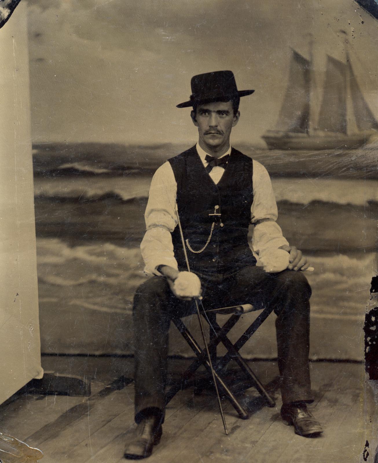 Vintage man photo
