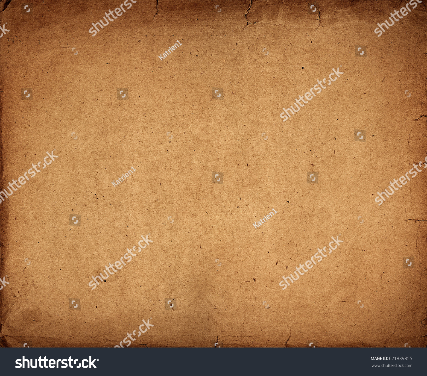 Old Vintage Paper Texture Dark Brown Stock Photo 621839855 ...