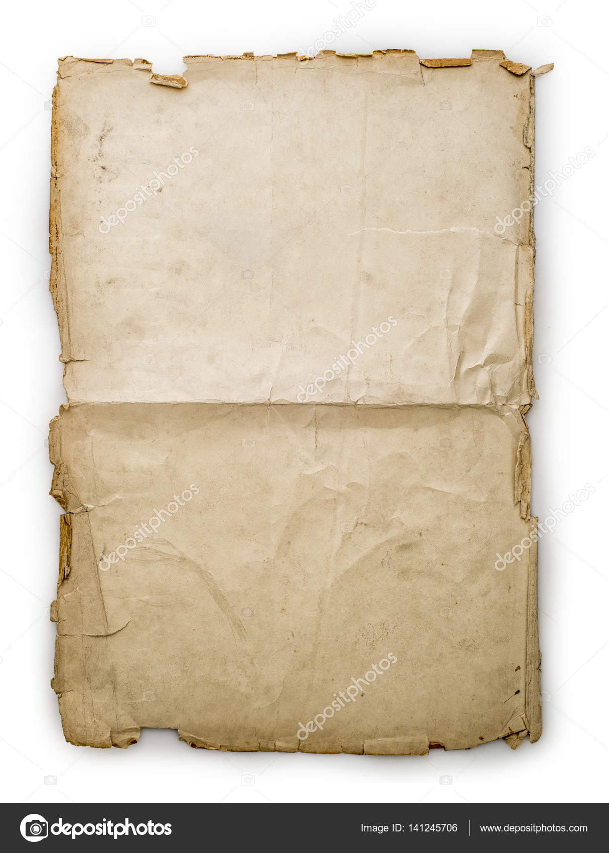 Vintage paper sheet — Stock Photo © diplomedia #141245706