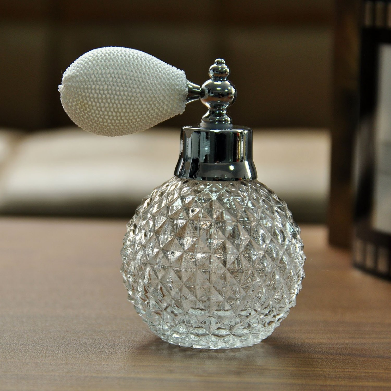 Amazon.com: H&D Empty Crystal Vintage Perfume Replacement Spray ...