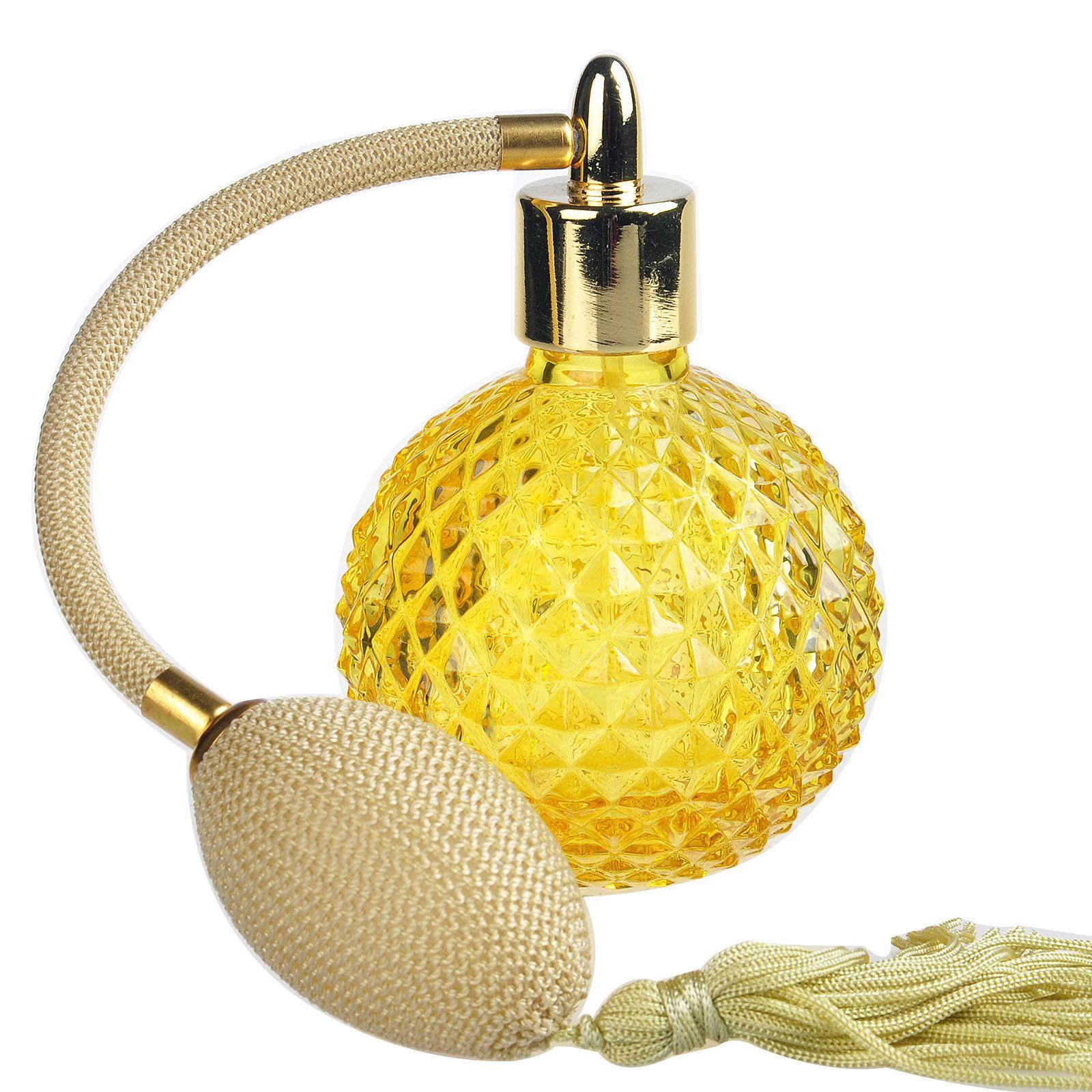 Fashion Vintage Perfume Bottle Spray Empty Glass Bottle Atomizer ...