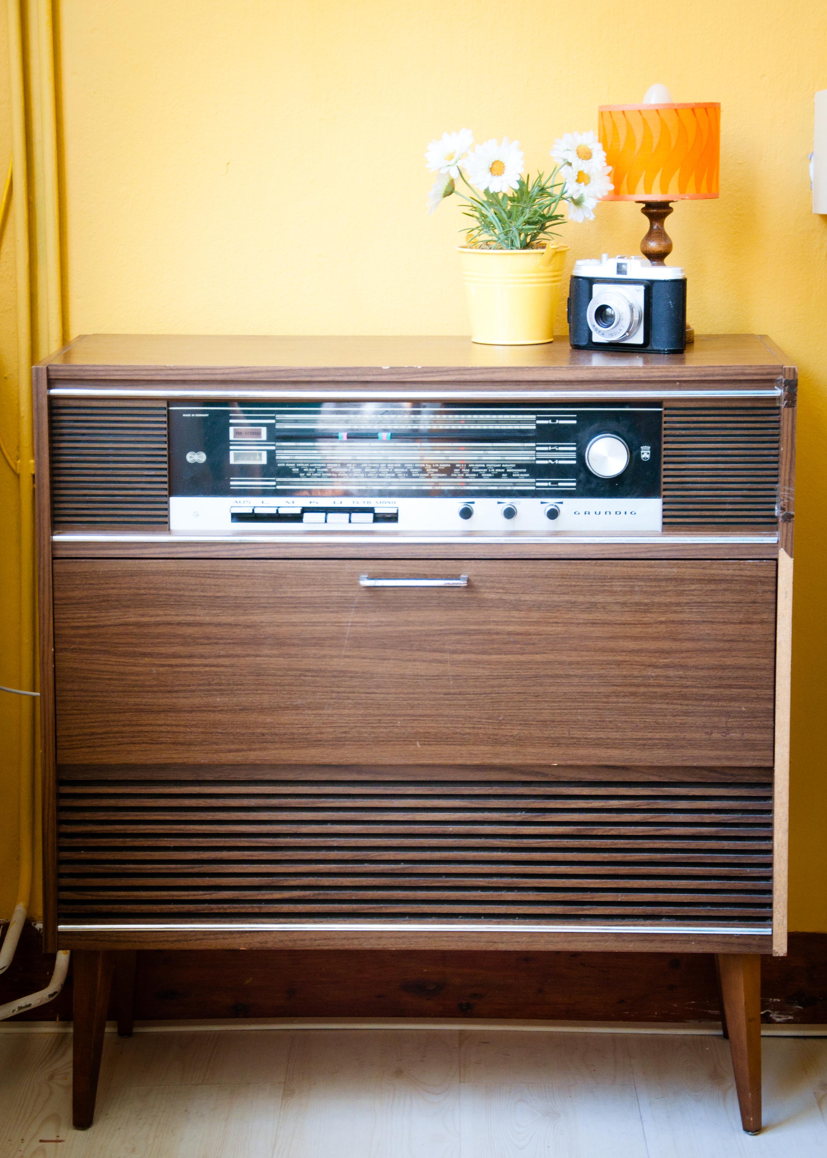 Vintage retro radio interior, Station, Photography, Place, Postcard, HQ Photo